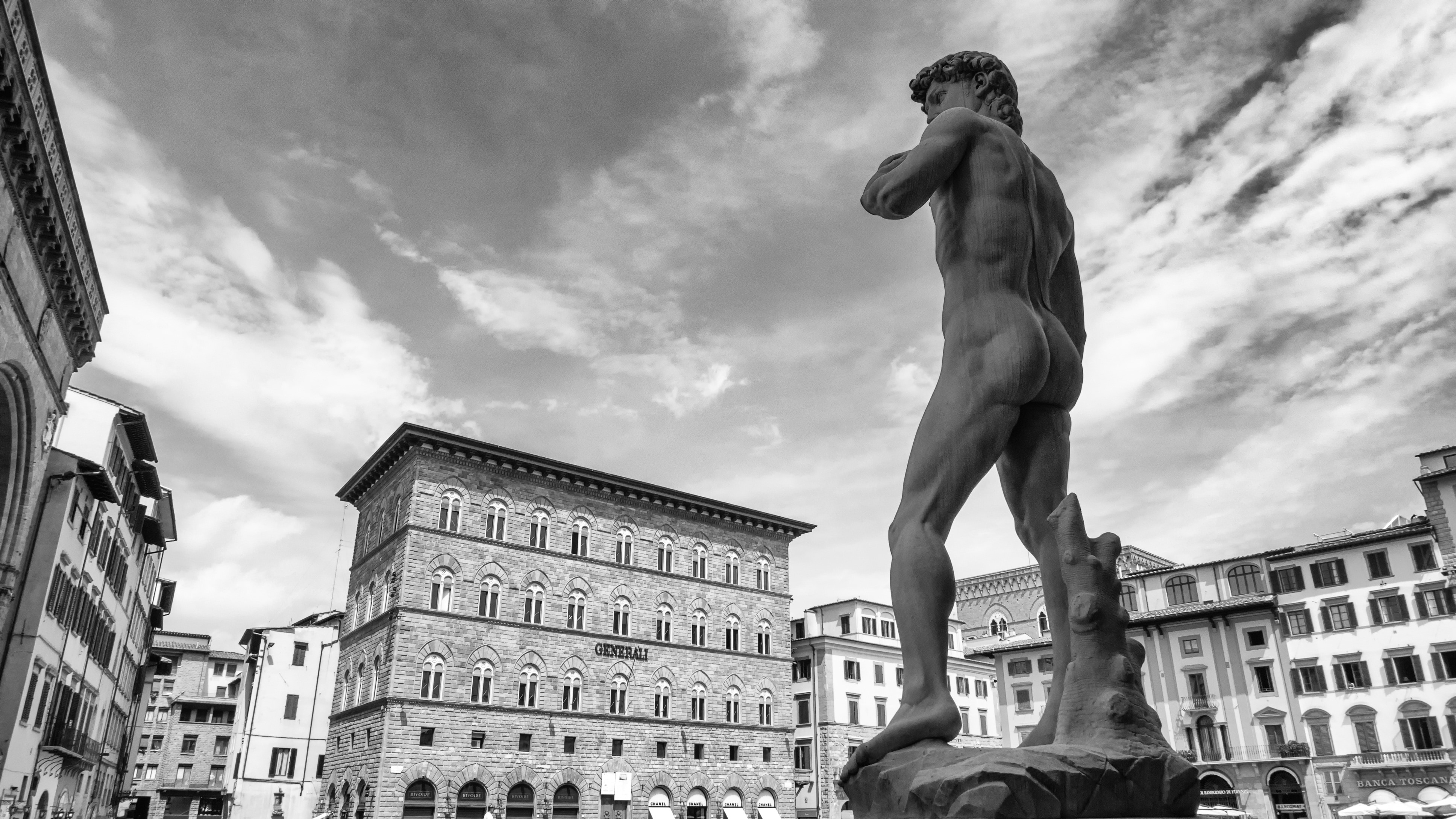 statue of david by michaelangelo free image
