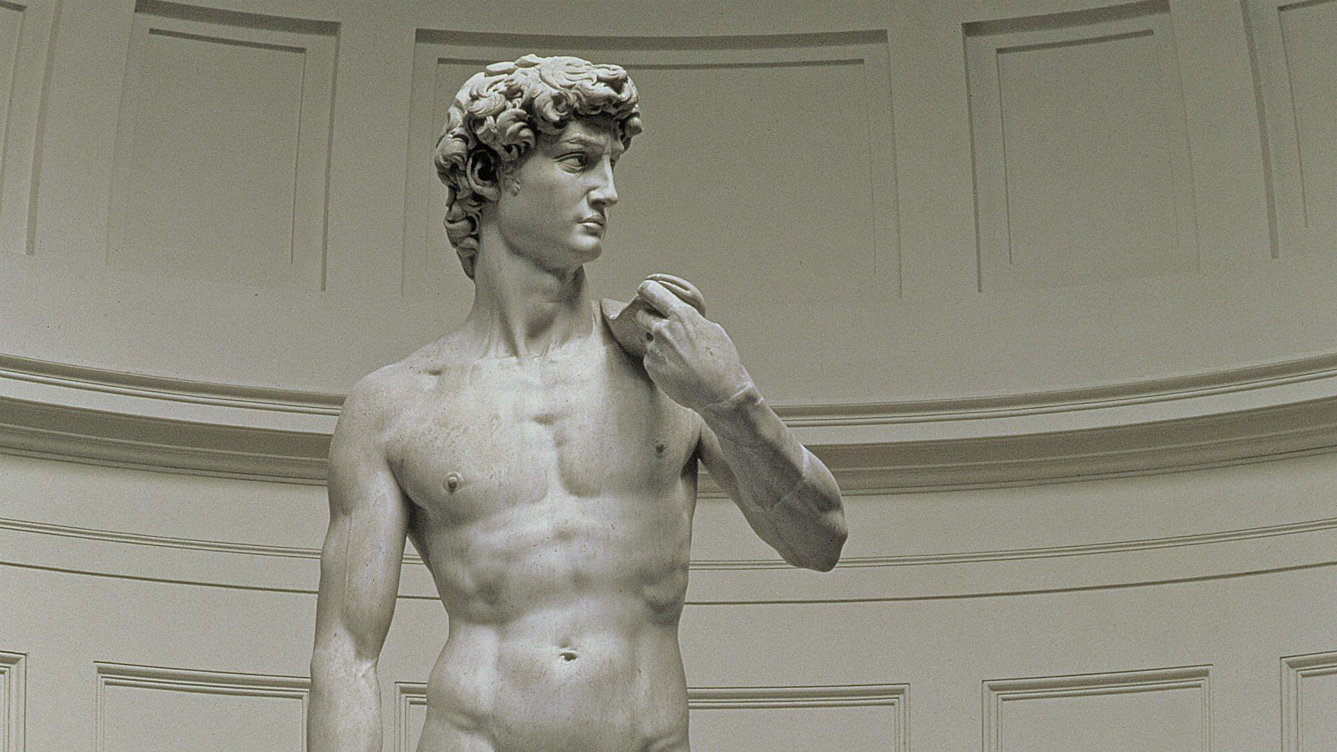 Hannah Gadsby: Arts Clown: Michelangelo's David : BBC : Free