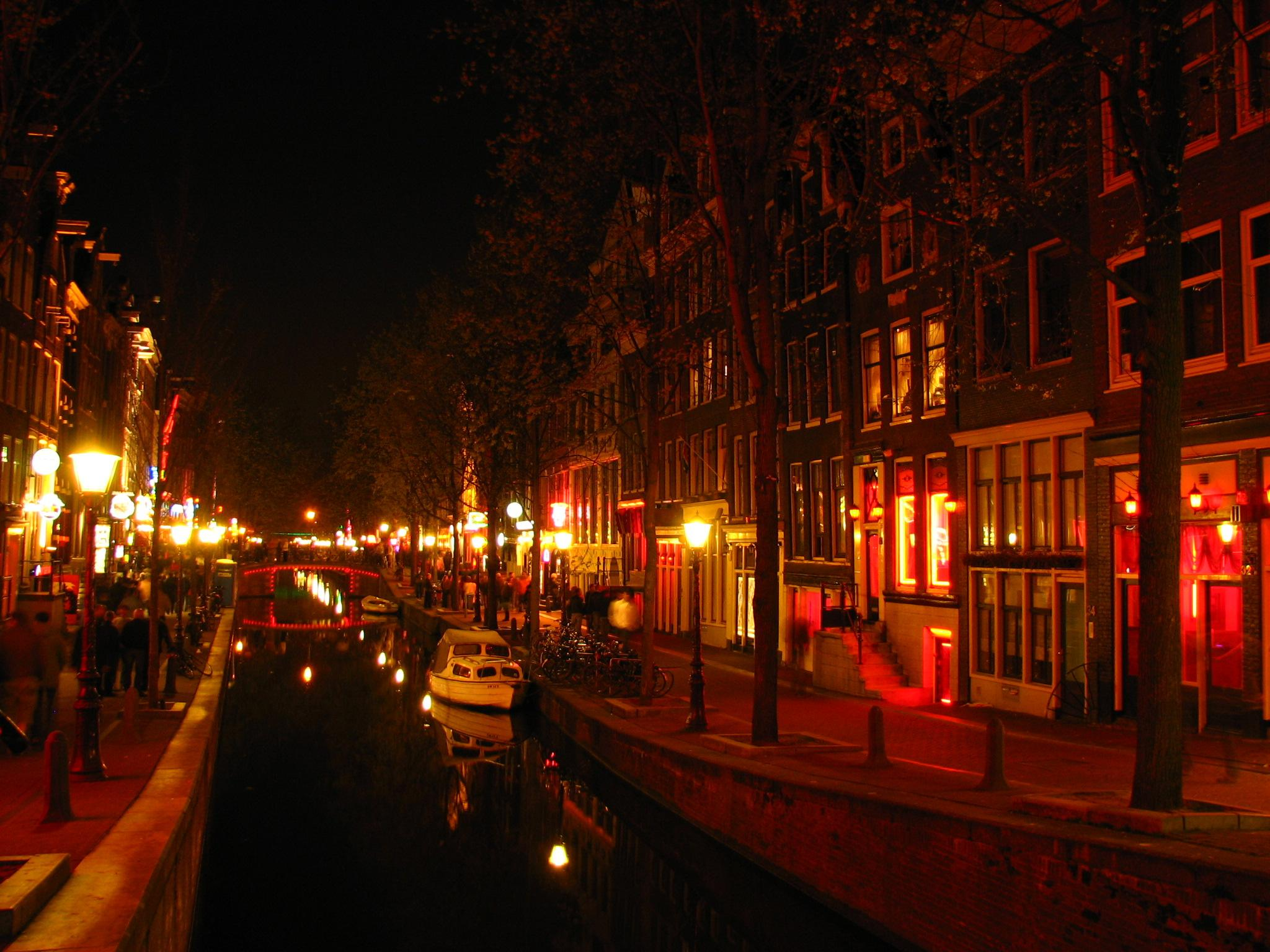 Red light district, Amsterdam : pics