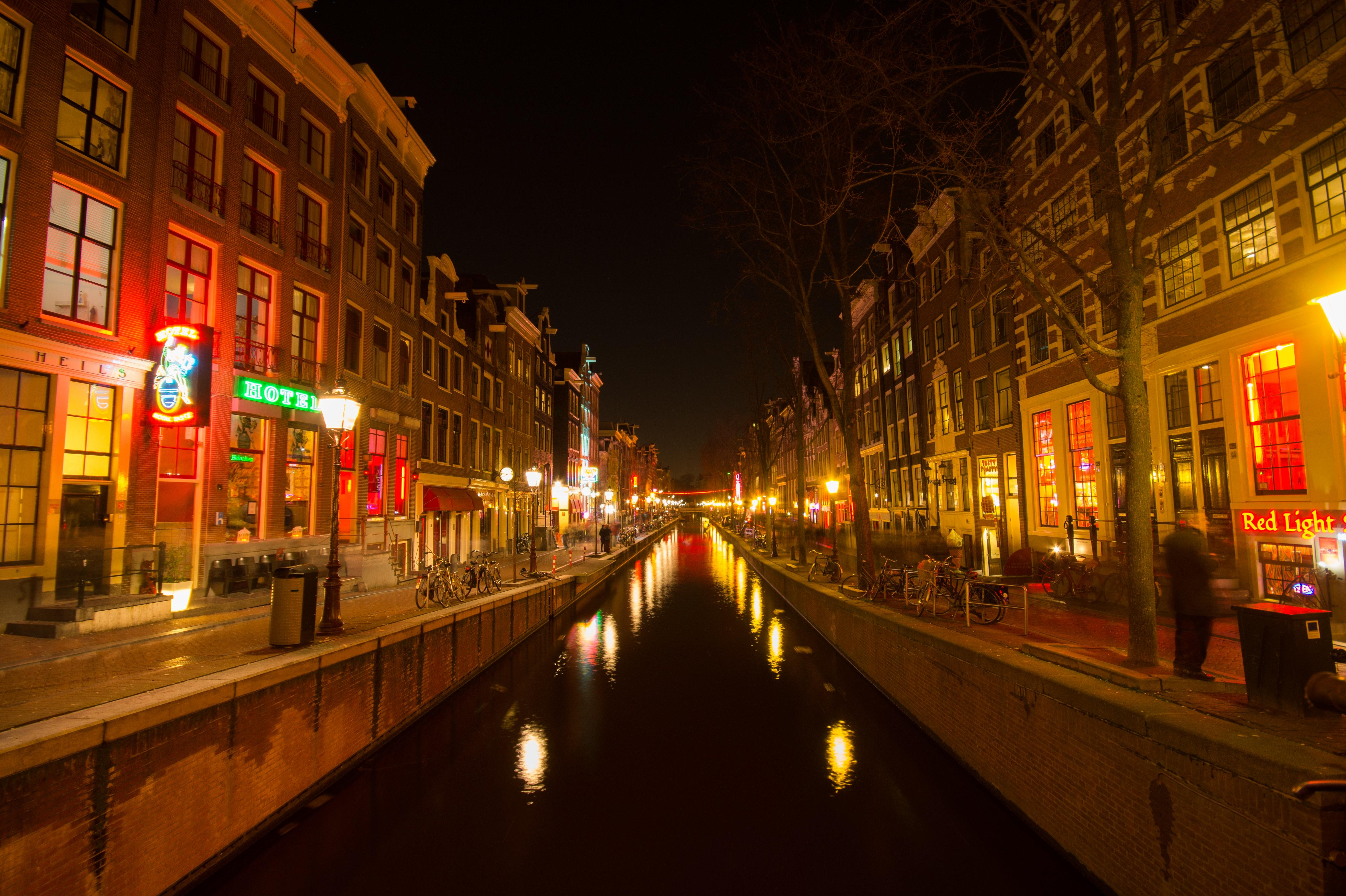 Red Light District , Amsterdam · Free Stock Photo