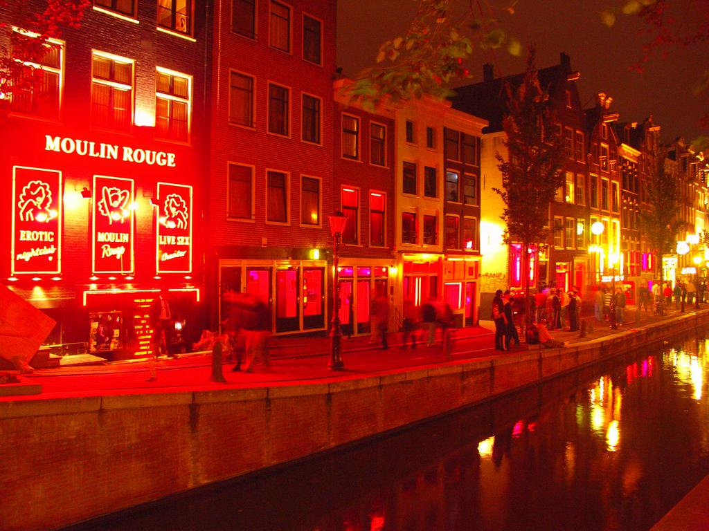 Red Light District: Where life begins in the night