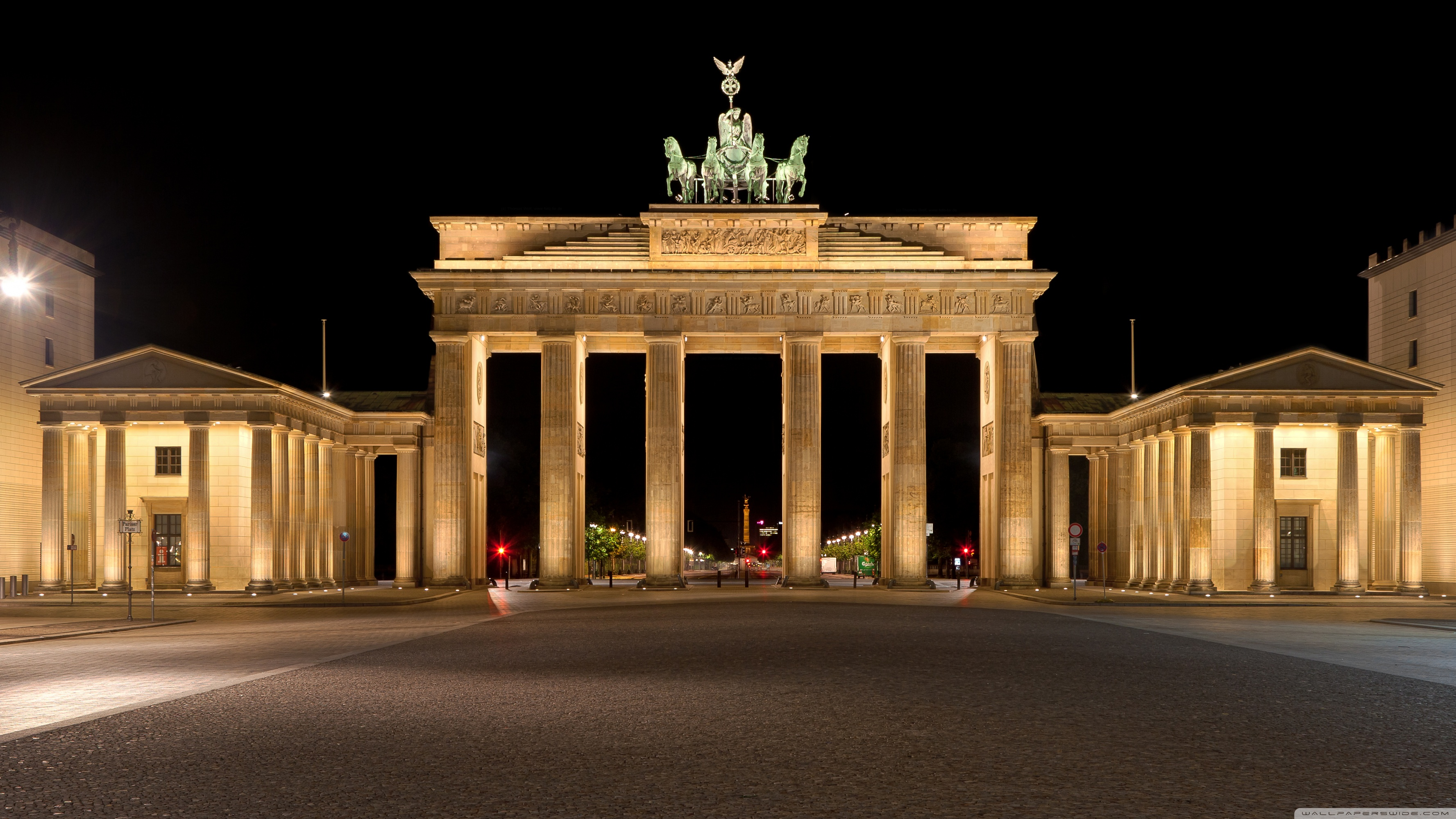 Brandenburg Gate ❤ 4K HD Desktop Wallpapers for 4K Ultra HD TV