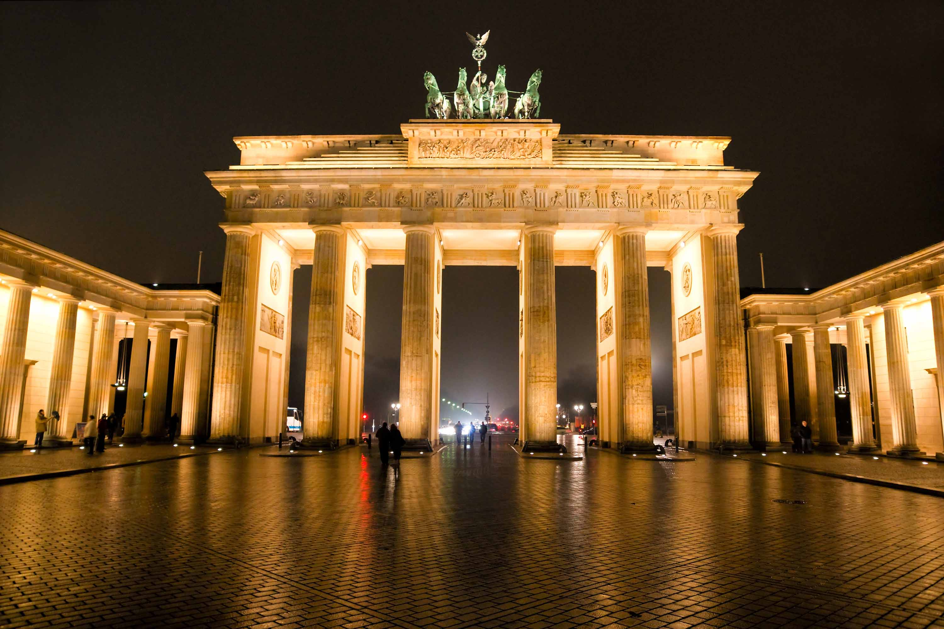 Gallery For > Brandenburg Gate Wallpapers