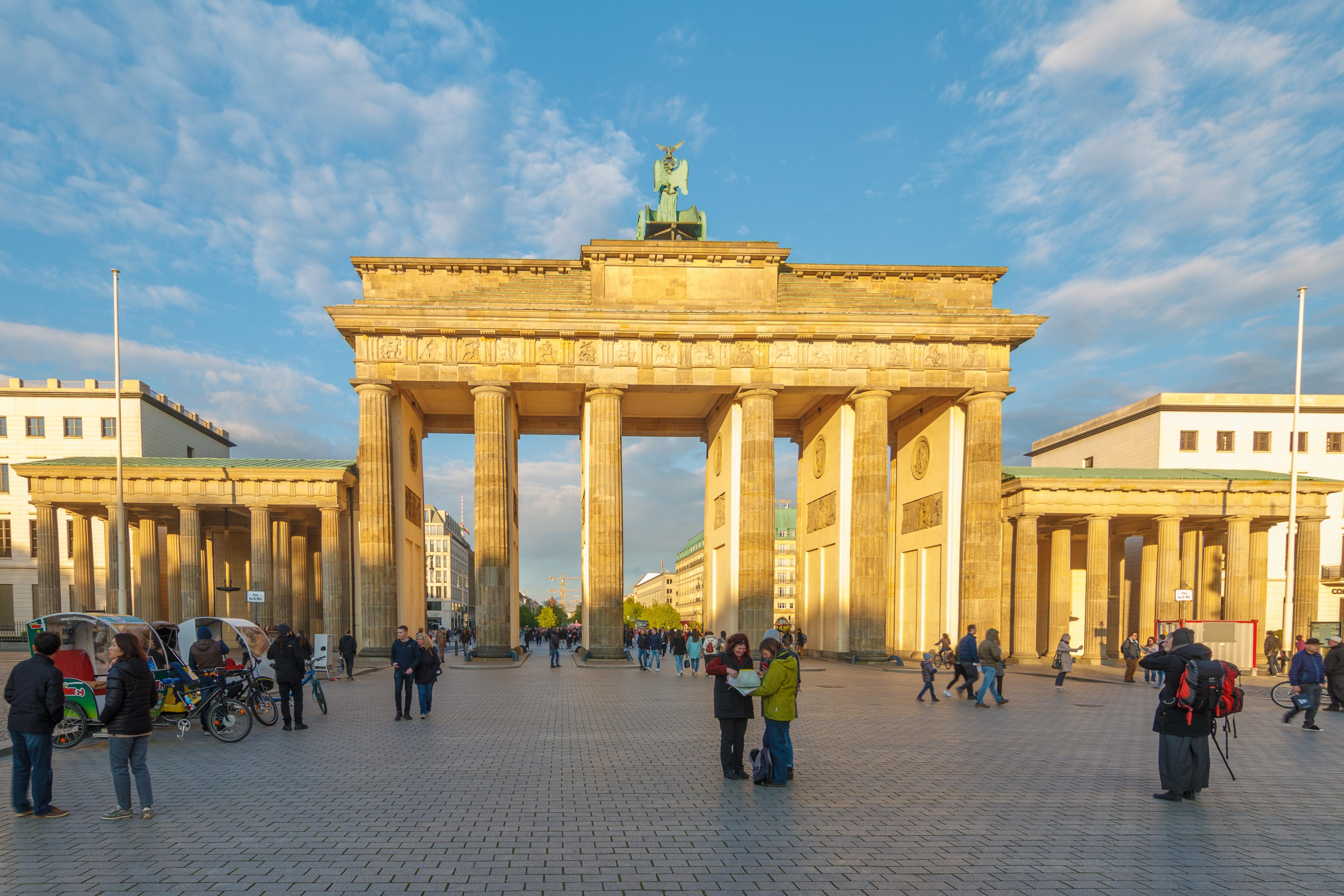 Free stock photo of behind, berlin, brandenburg gate