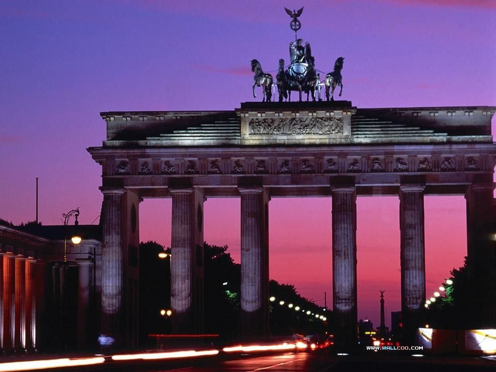 Brandenburg Gate Sunset Wallpapers – Travel HD Wallpapers