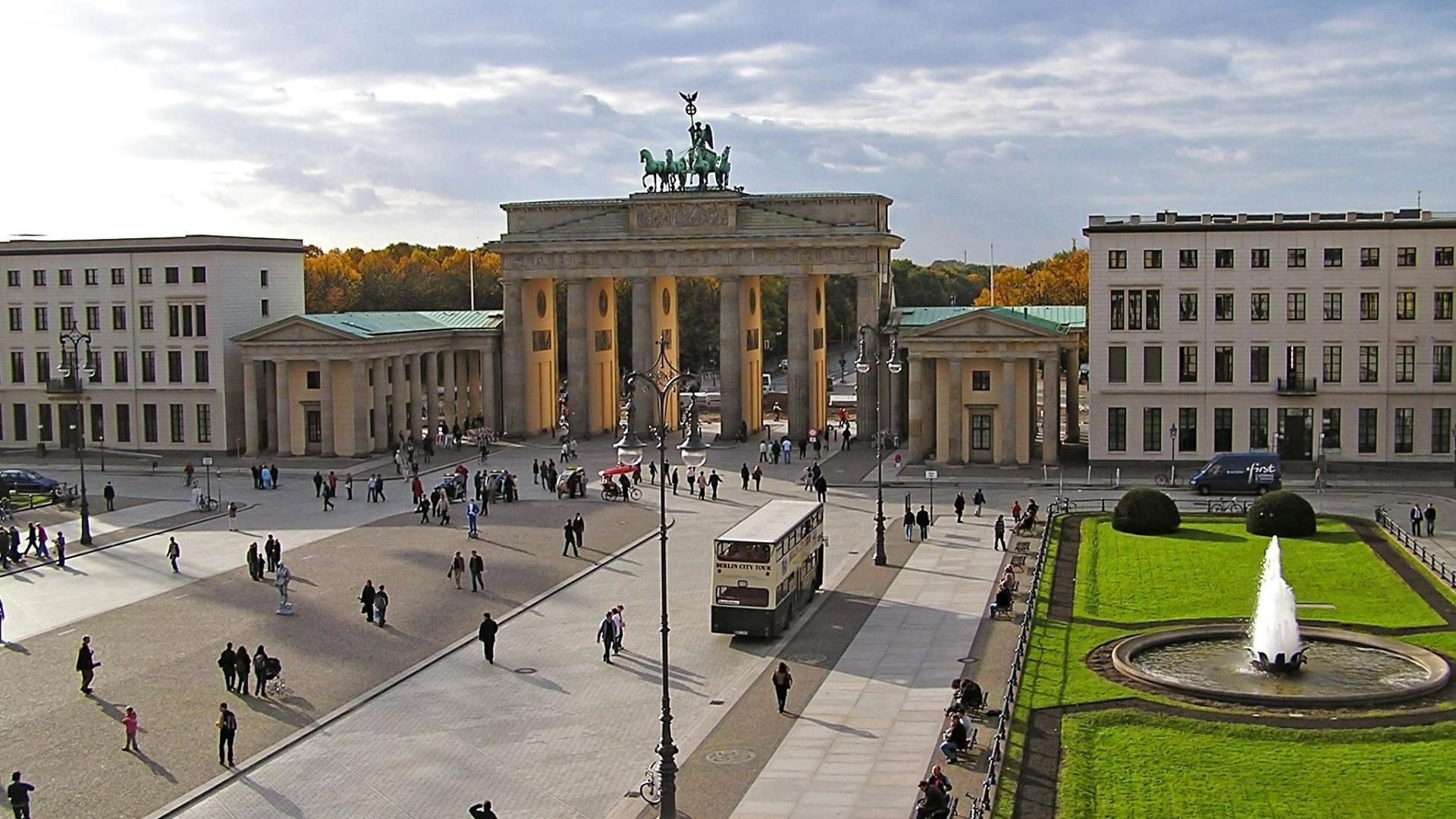Germany berlin cities brandenburg gate wallpapers