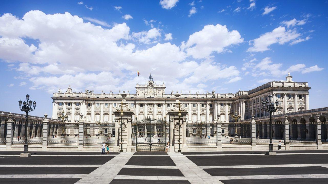 Royal Palace of Madrid, One of The Largest and Most Beautiful