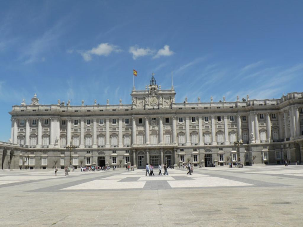 The Royal Palace of Madrid in Madrid