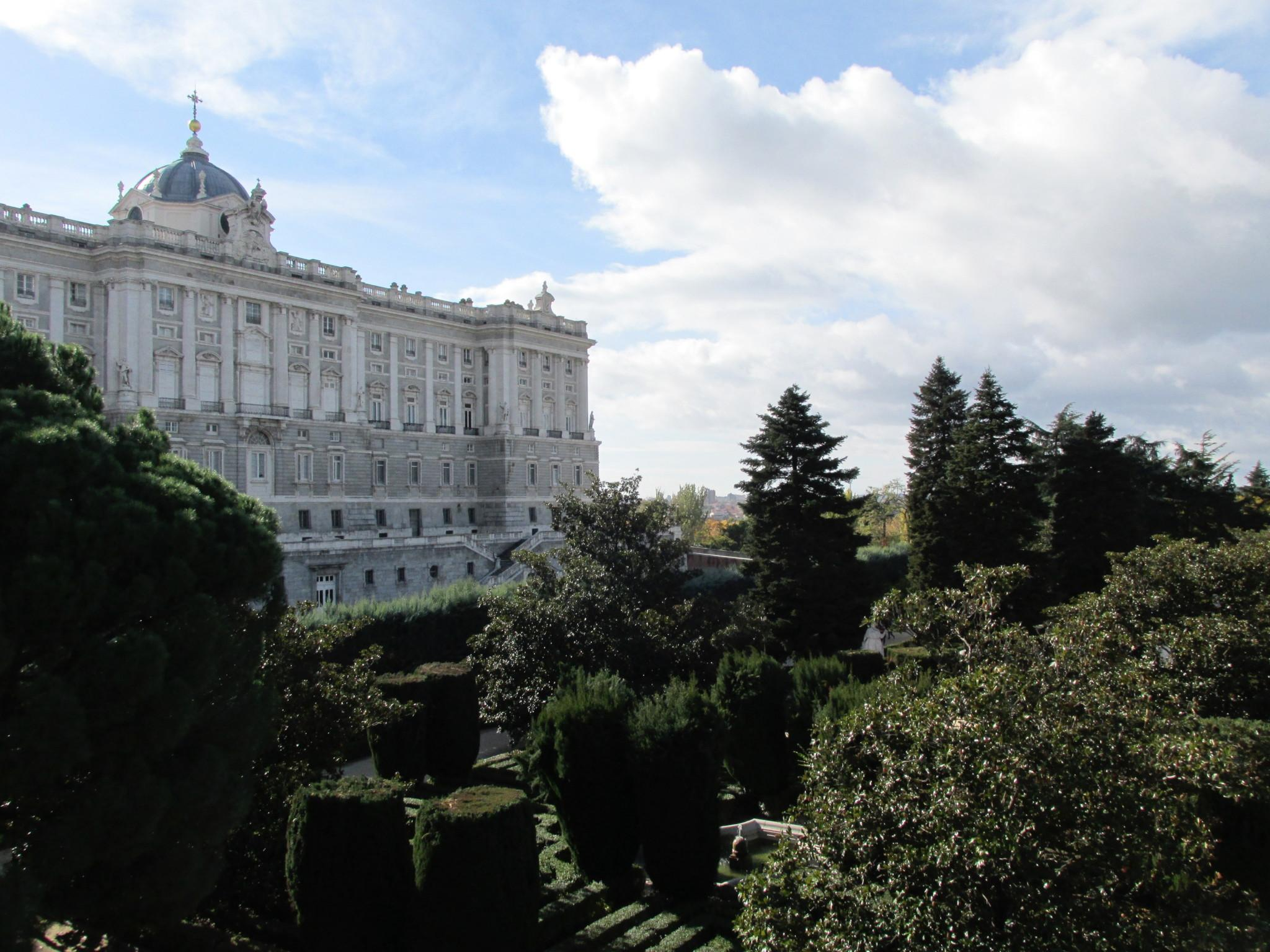Madrid Research Photo Diary: Royal Palace and Oriental Gardens