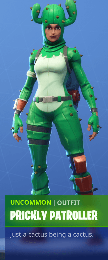Prickly Patroller Fortnite wallpapers