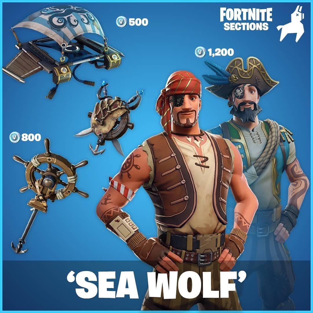 Sea Wolf Fortnite Wallpapers Wallpaper Cave