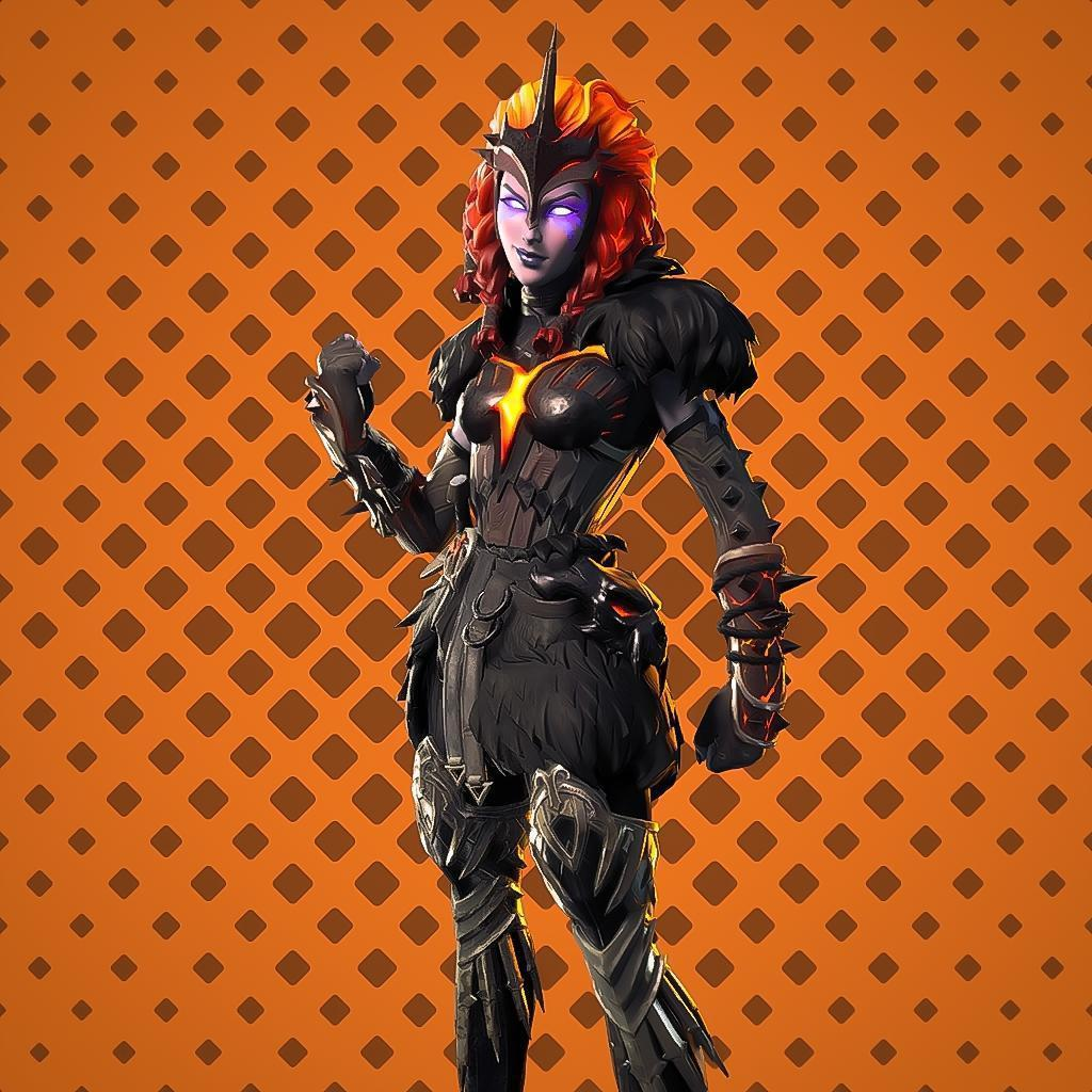 Molten Valkyrie Fortnite wallpapers