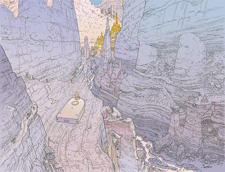 Jean Giraud Moebius Wallpapers