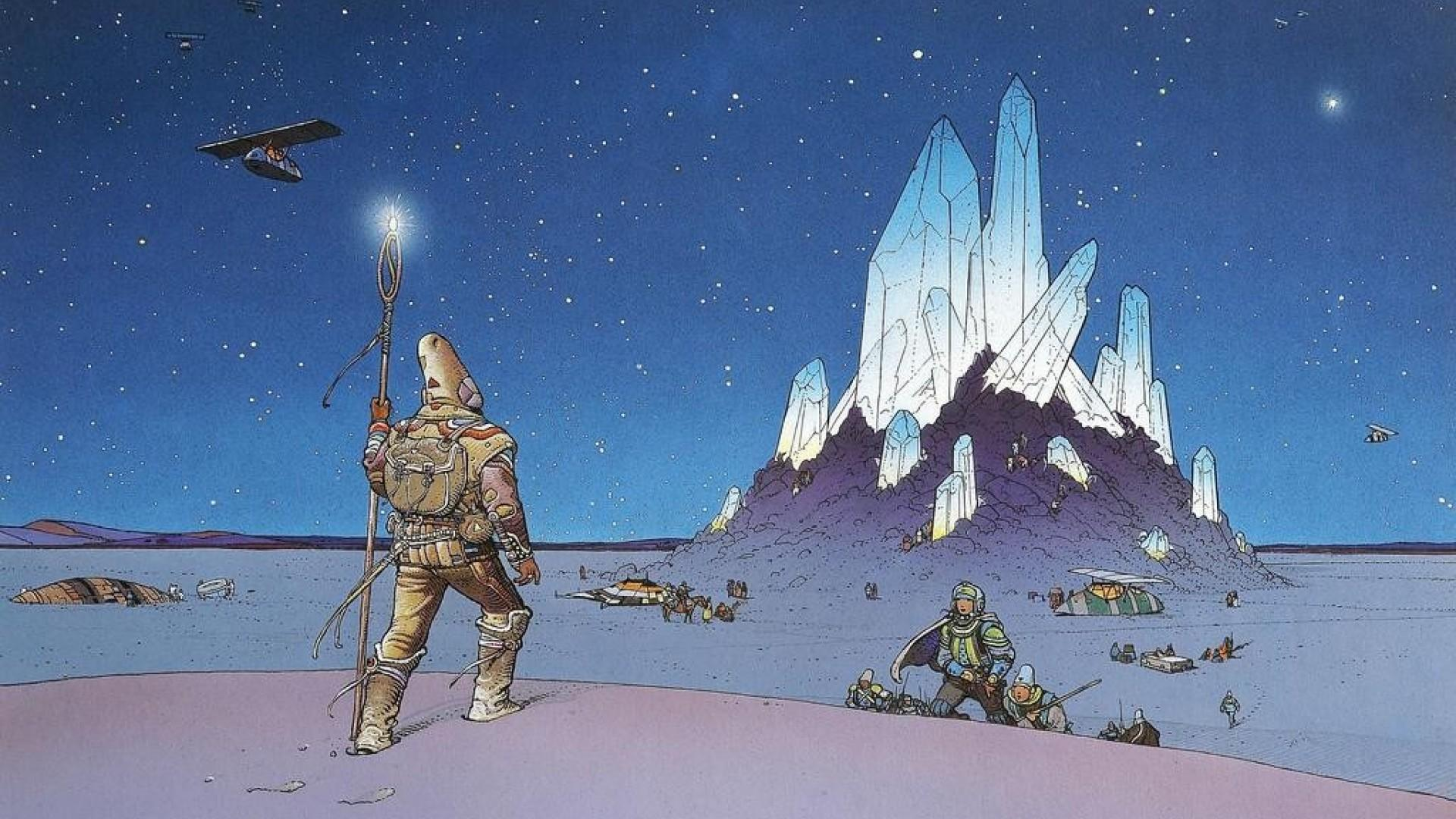 Moebius wallpaper - SF Wallpaper