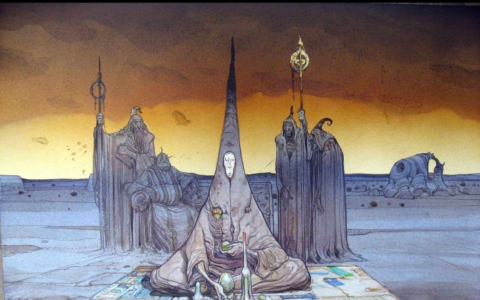moebius wallpaper - Google Search | Illustration | Moebius art .