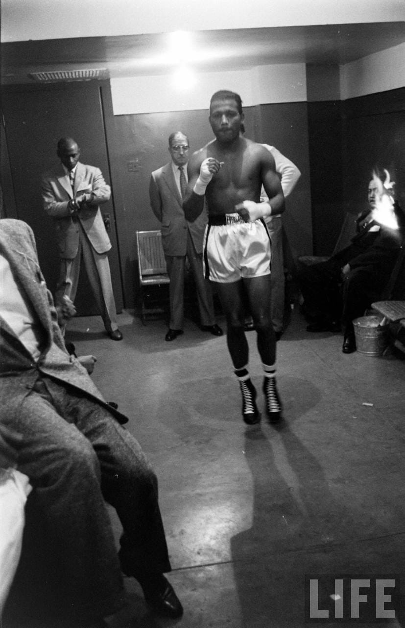 Picture of Sugar Ray Robinson