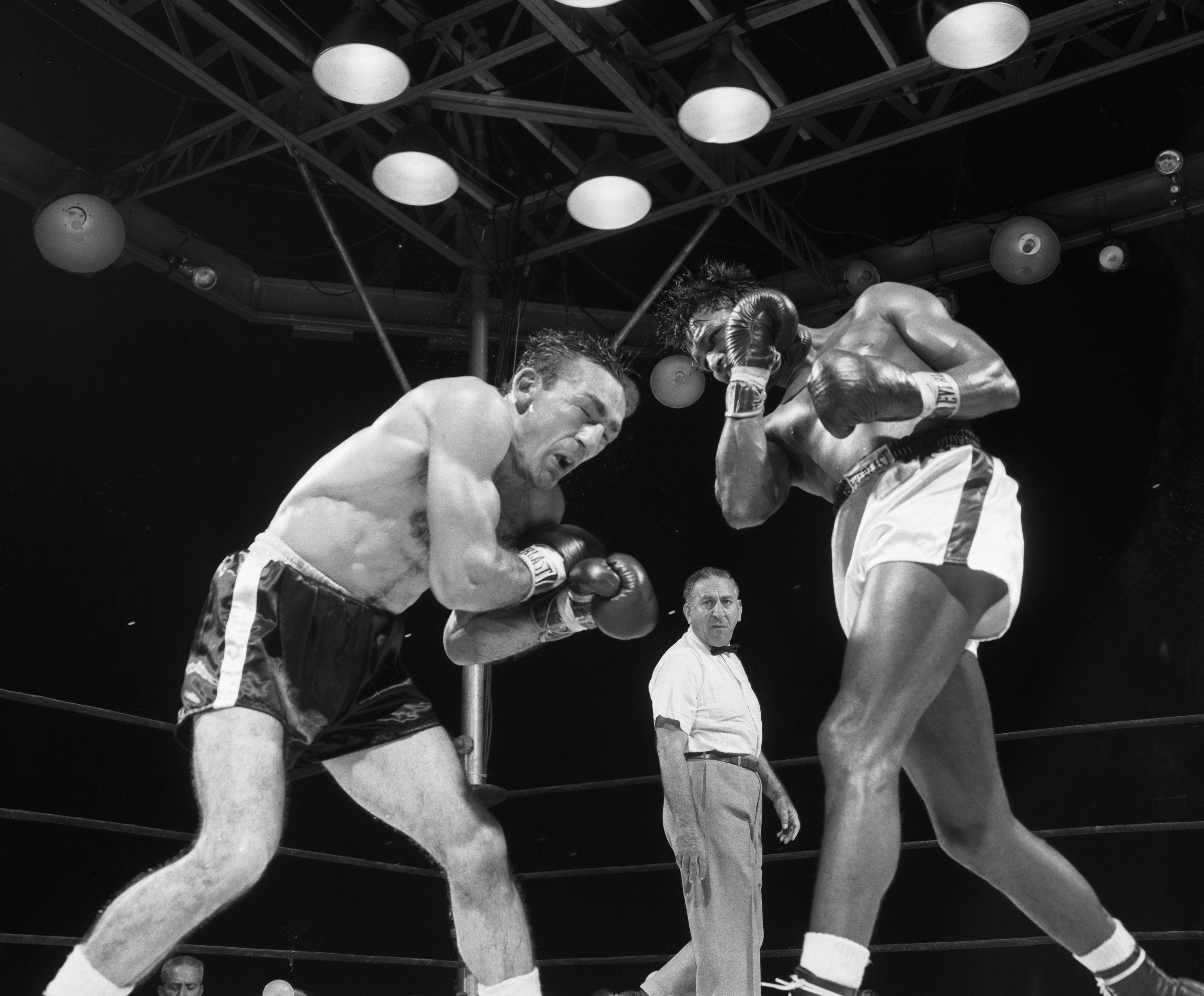 Vintage images - September 23, 1957, Sugar Ray Robinson | The Day I ...