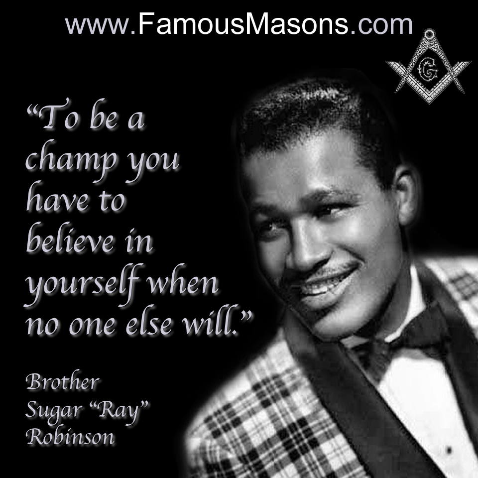 Brother Sugar Ray Robinson | Wallpapers | Pinterest | Masonic ...