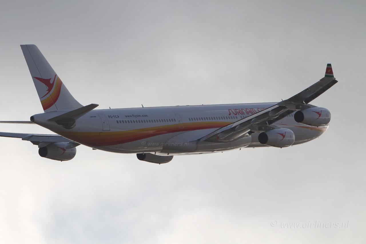 Surinam Airways SLM pictures and wallpapers Schiphol Suriname