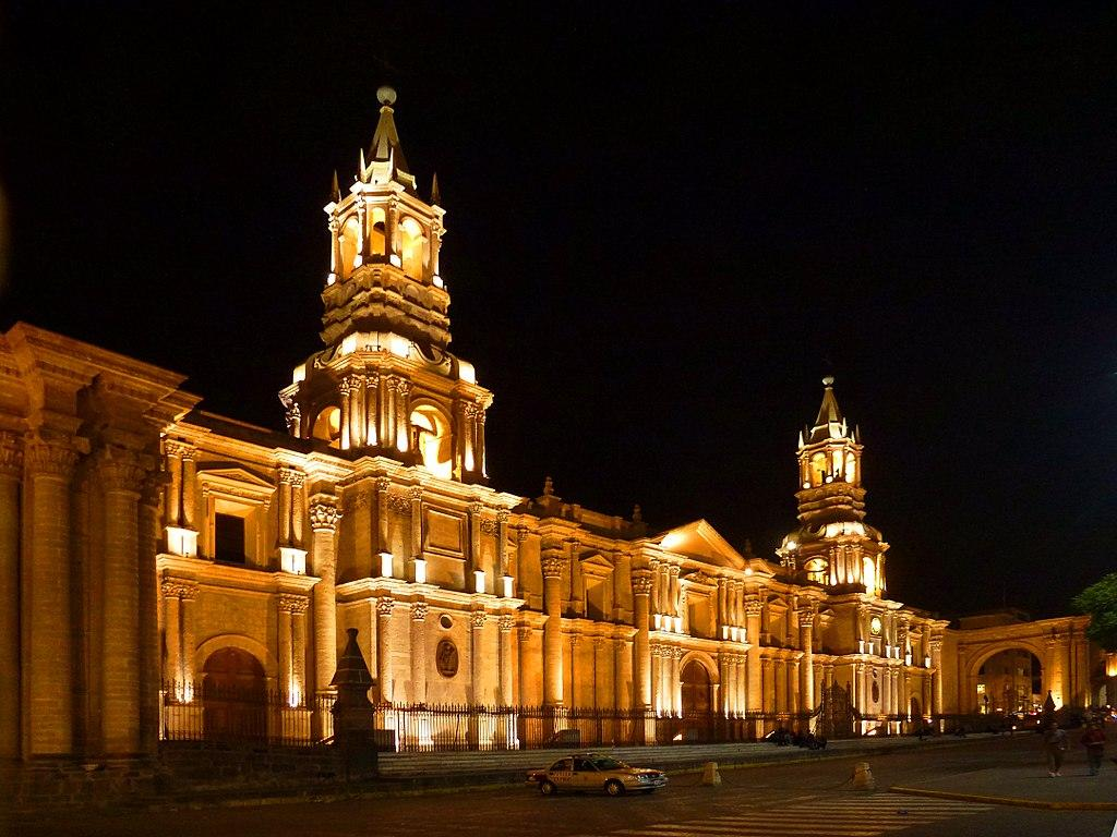 File:Cathedral of Arequipa, Peru.jpg - Wikimedia Commons