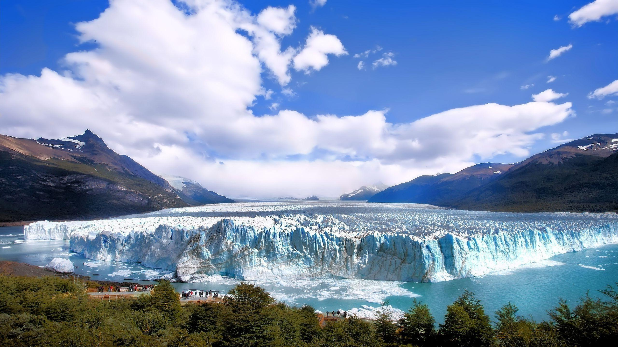 argentina landscape nature glaciers wallpaper and background