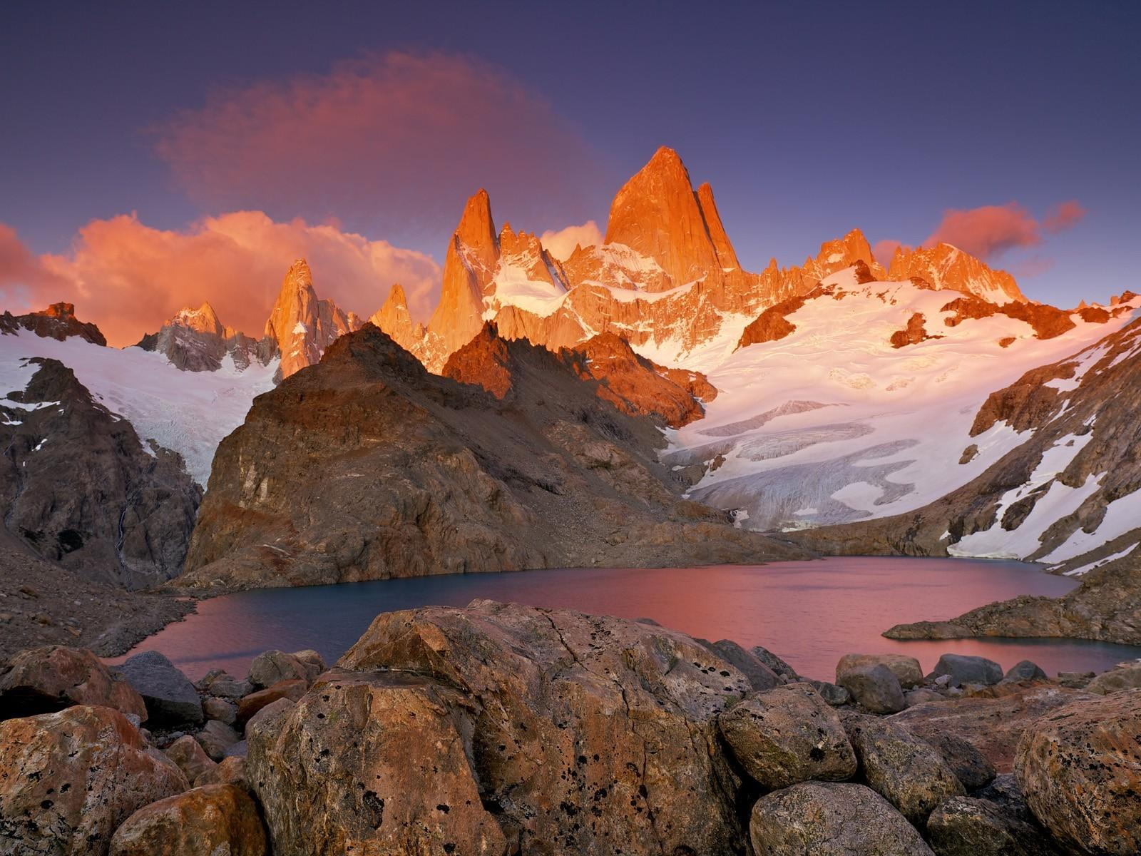 Park mount patagonia los glaciares fitz roy wallpapers