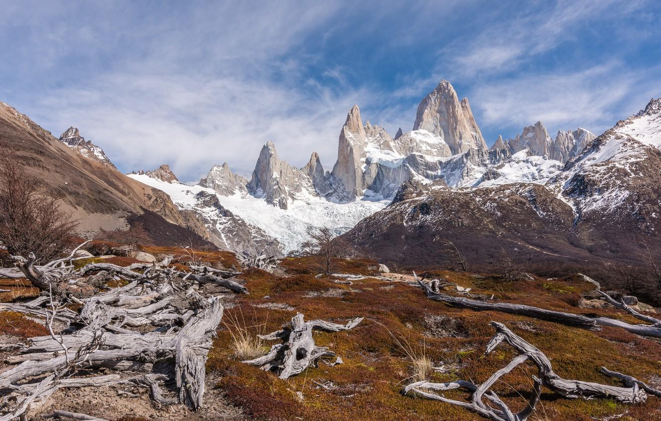 Wallpapers mountains, Argentina, Argentina, Patagonia, Mount Fitzroy