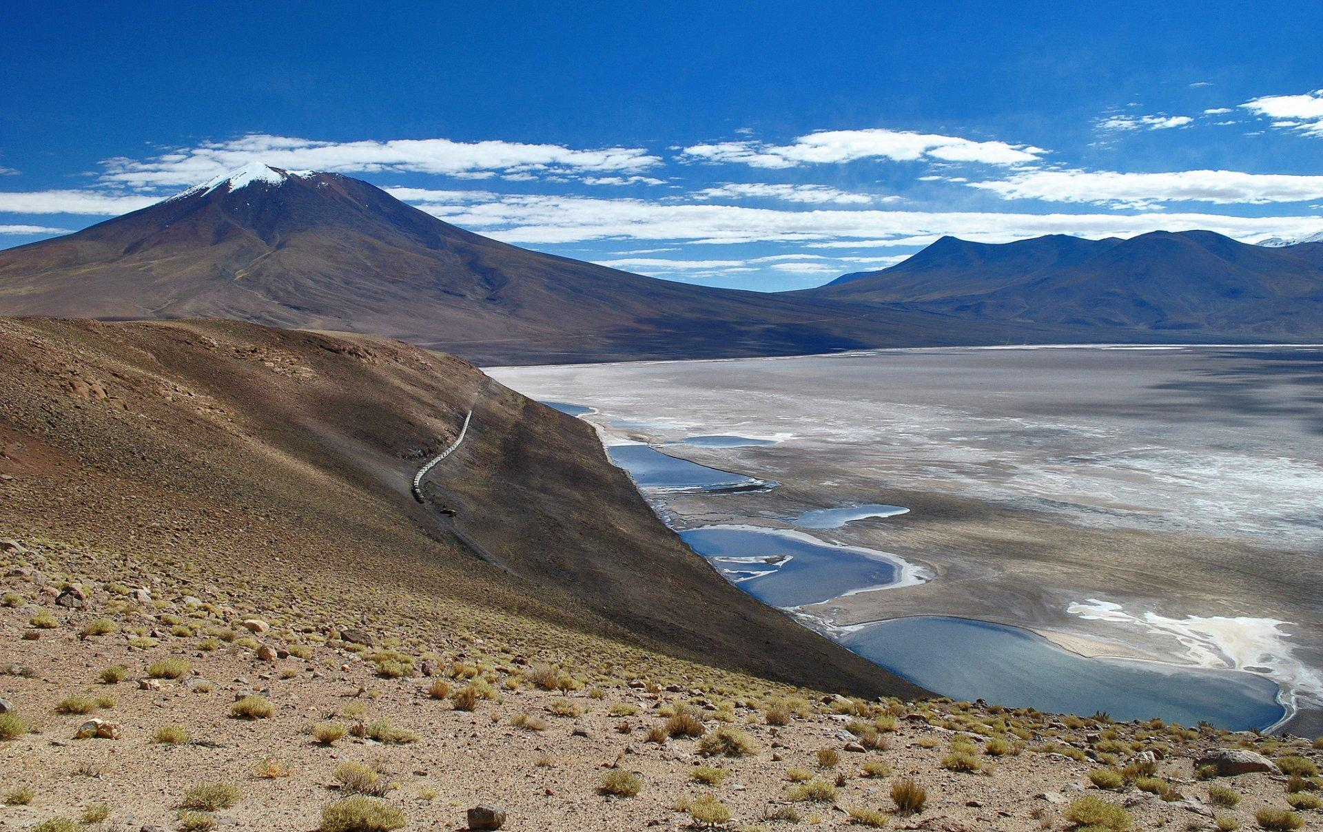 bolivia desert plain altiplano dry lake salar de uyuni HD wallpapers