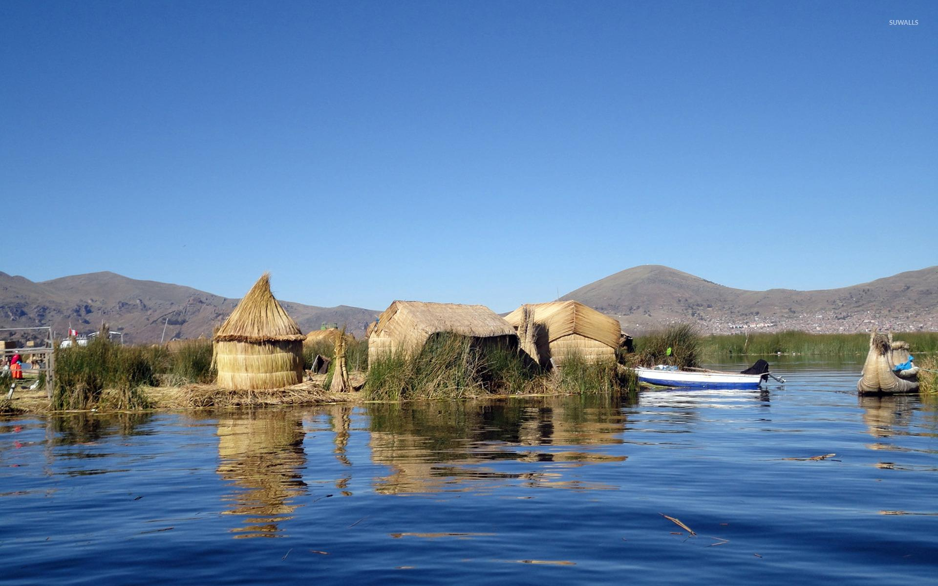 Lake Titicaca wallpaper - World wallpapers - #13757