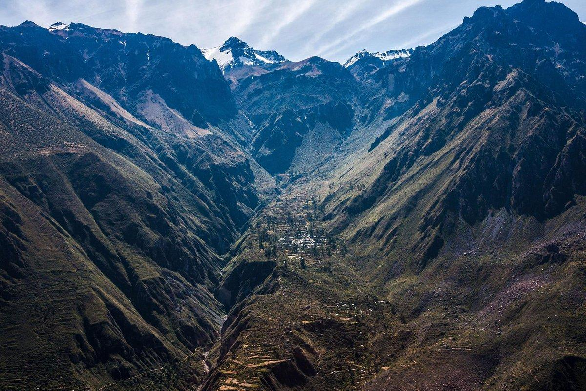Robert Orford on Twitter: of the Day: Colca Canyon