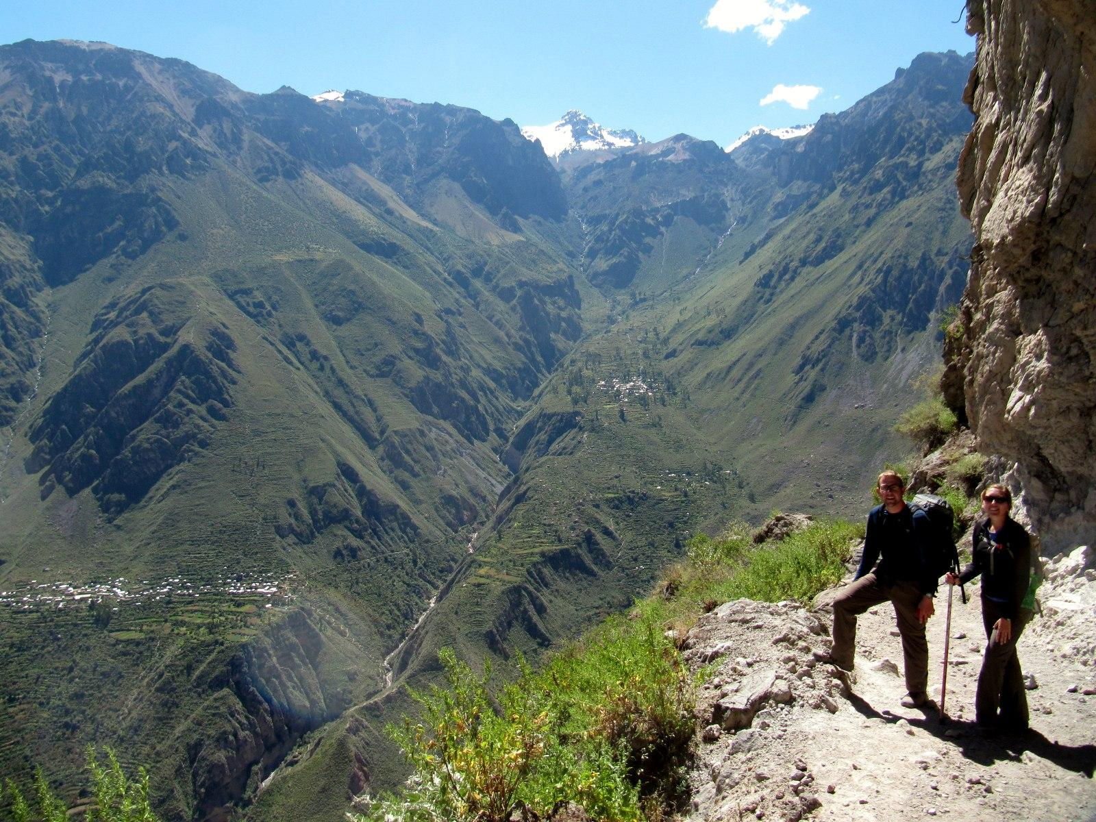 Climbing In and Out of Colca Canyon