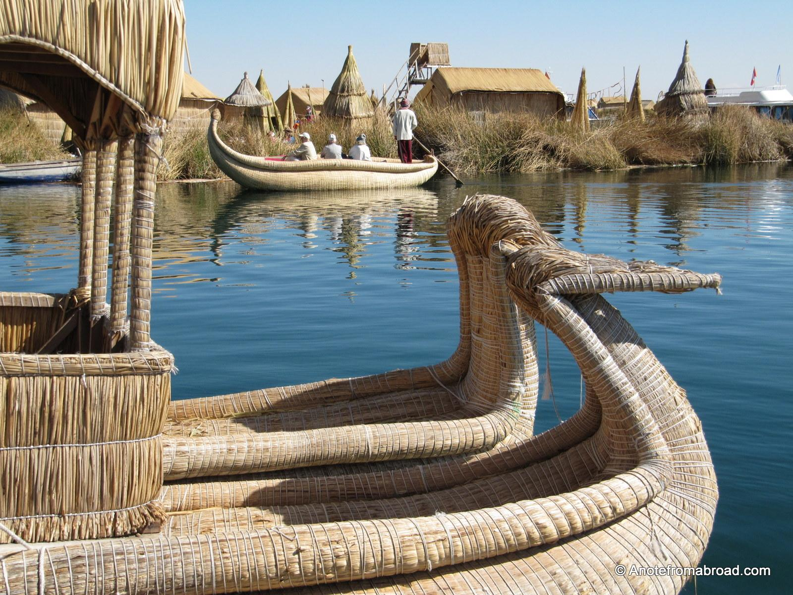 LAKE TITICACA: Puno, Uros Floating Islands and Taquile | A Note From ...