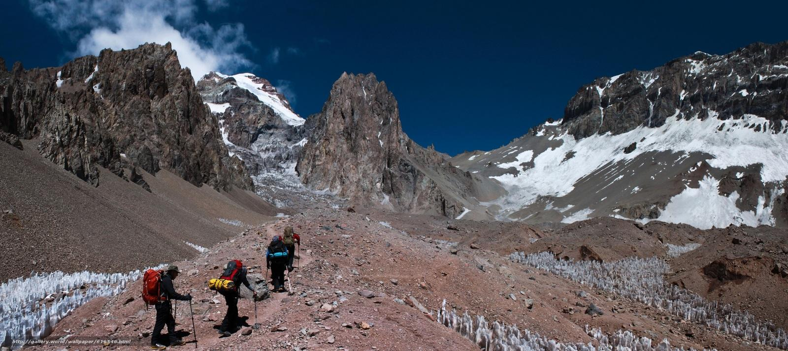 Download wallpapers Aconcagua, Mendoza, Argentina, Mountains free