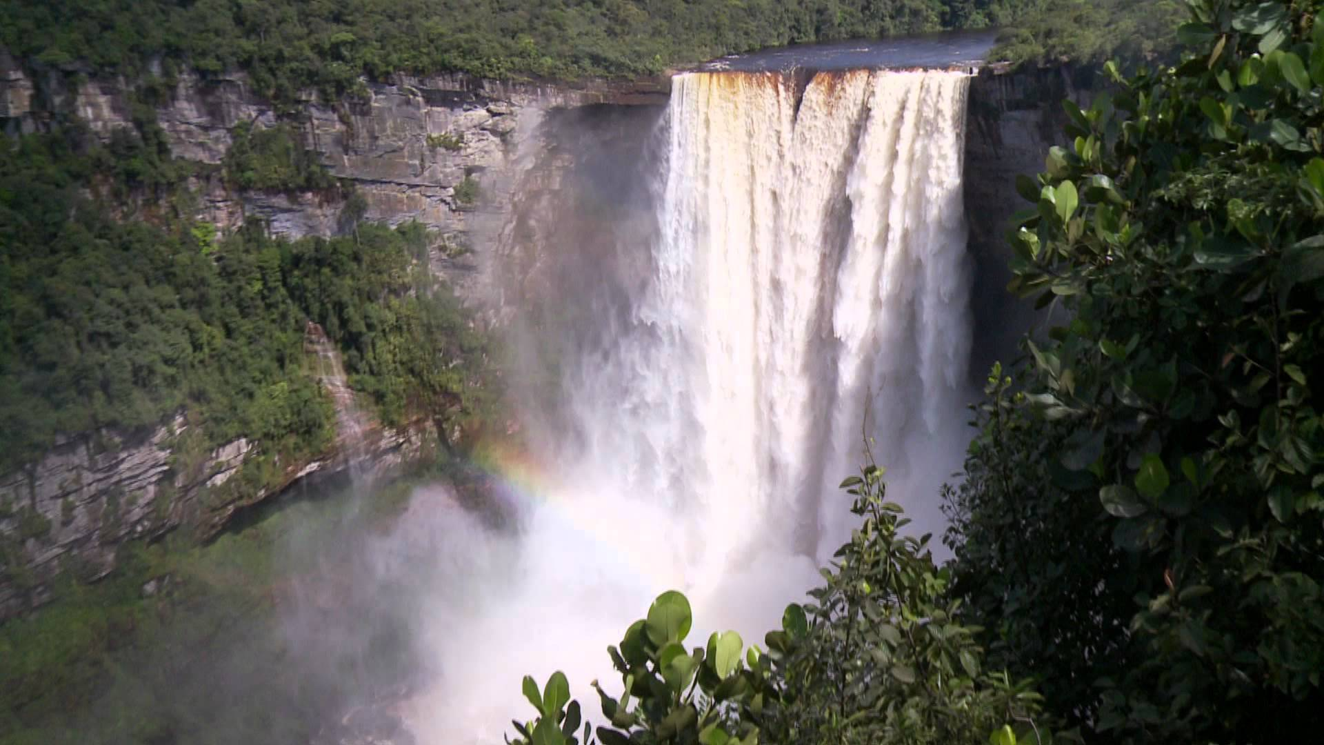 Kaieteur Falls map, facts, location, height, photos