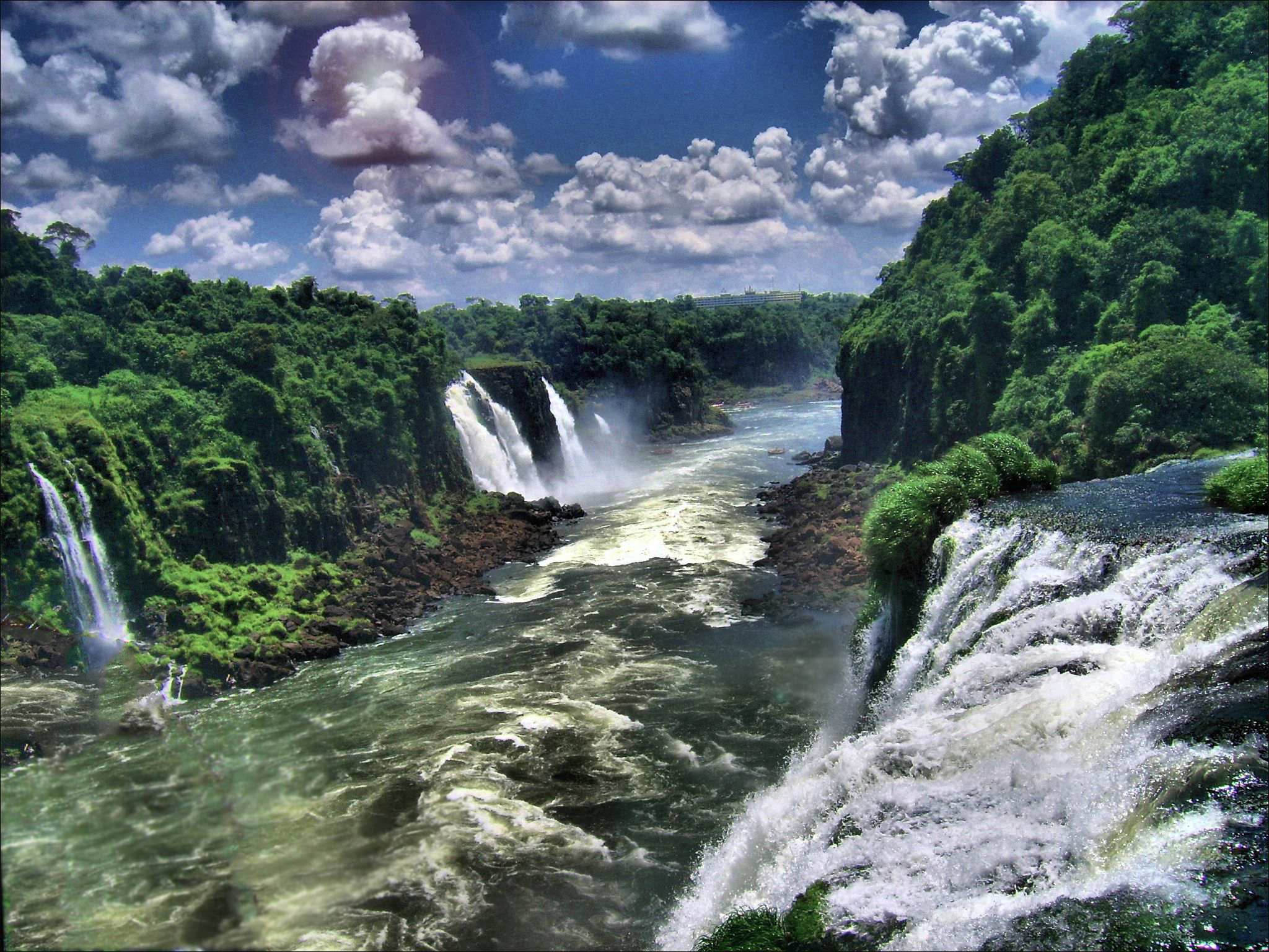 Iguazu Falls Wallpapers and Backgrounds Image