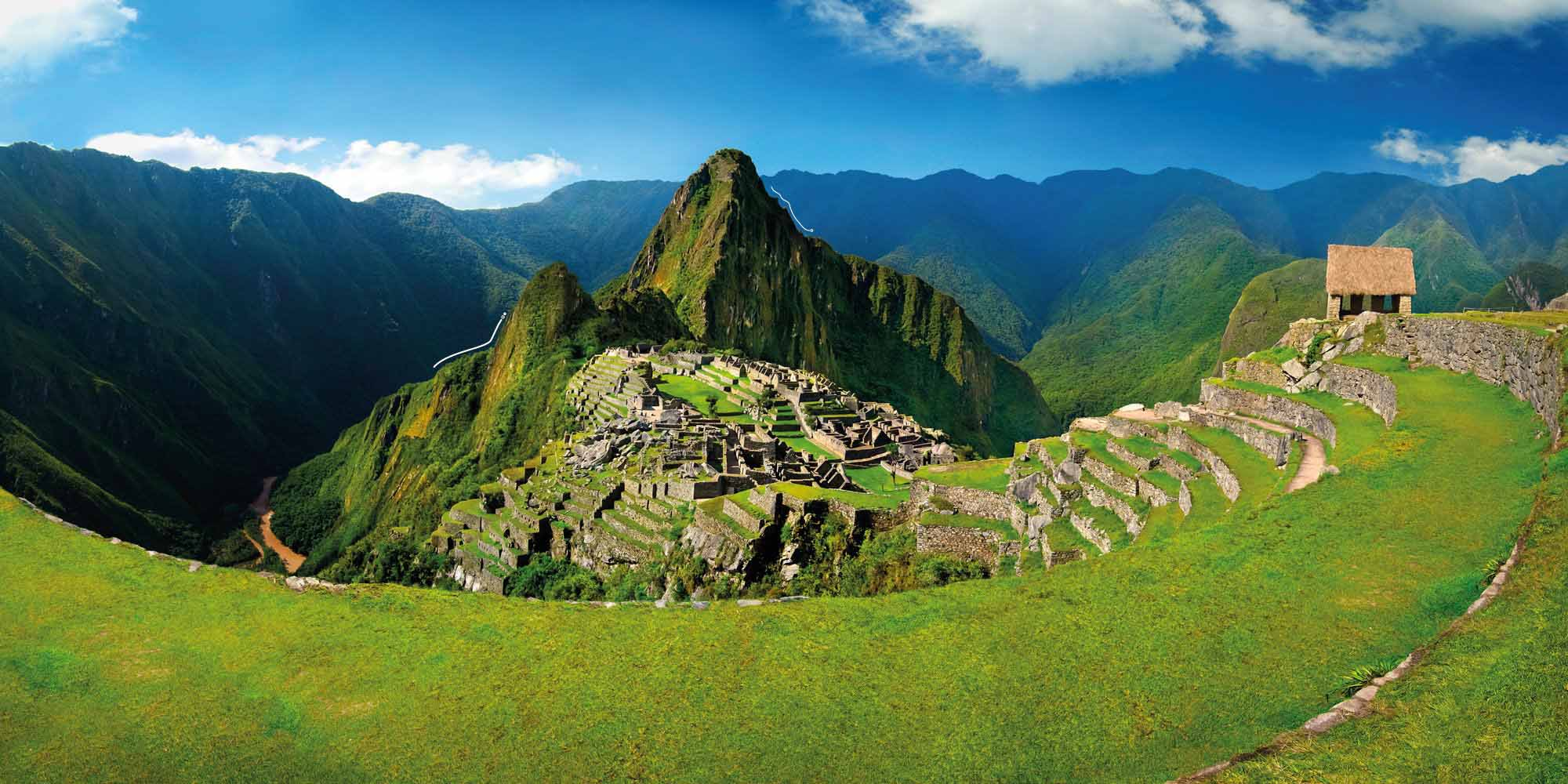 Explore Machu Picchu in Peru, following the ancient Inca trail