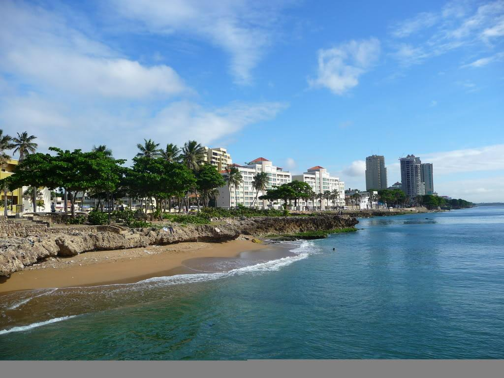 Malecon of Santo Domingo, 12 KM of Oceanview in the Capital of the