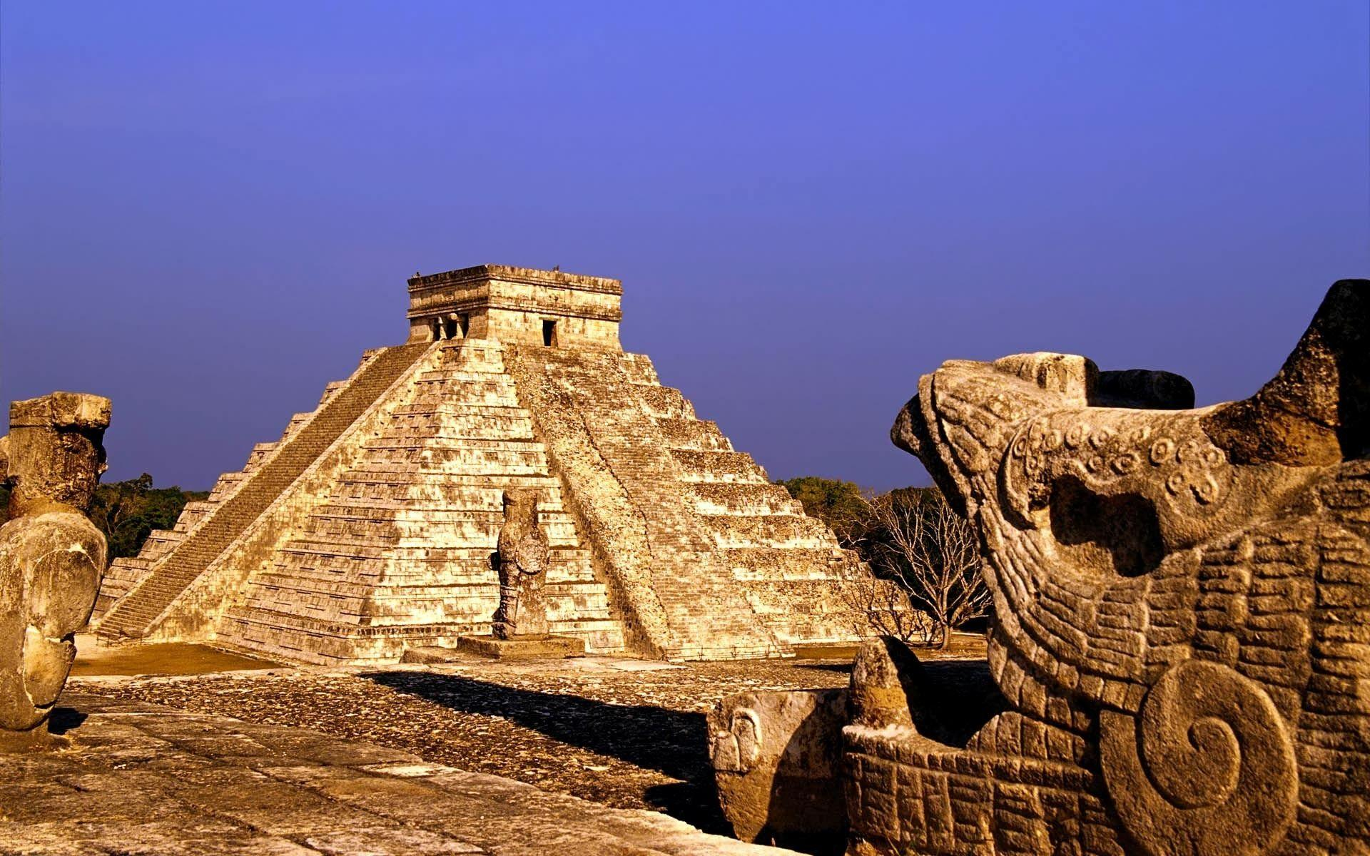 The ruins of Chichen Itza are located in the northern center of ...