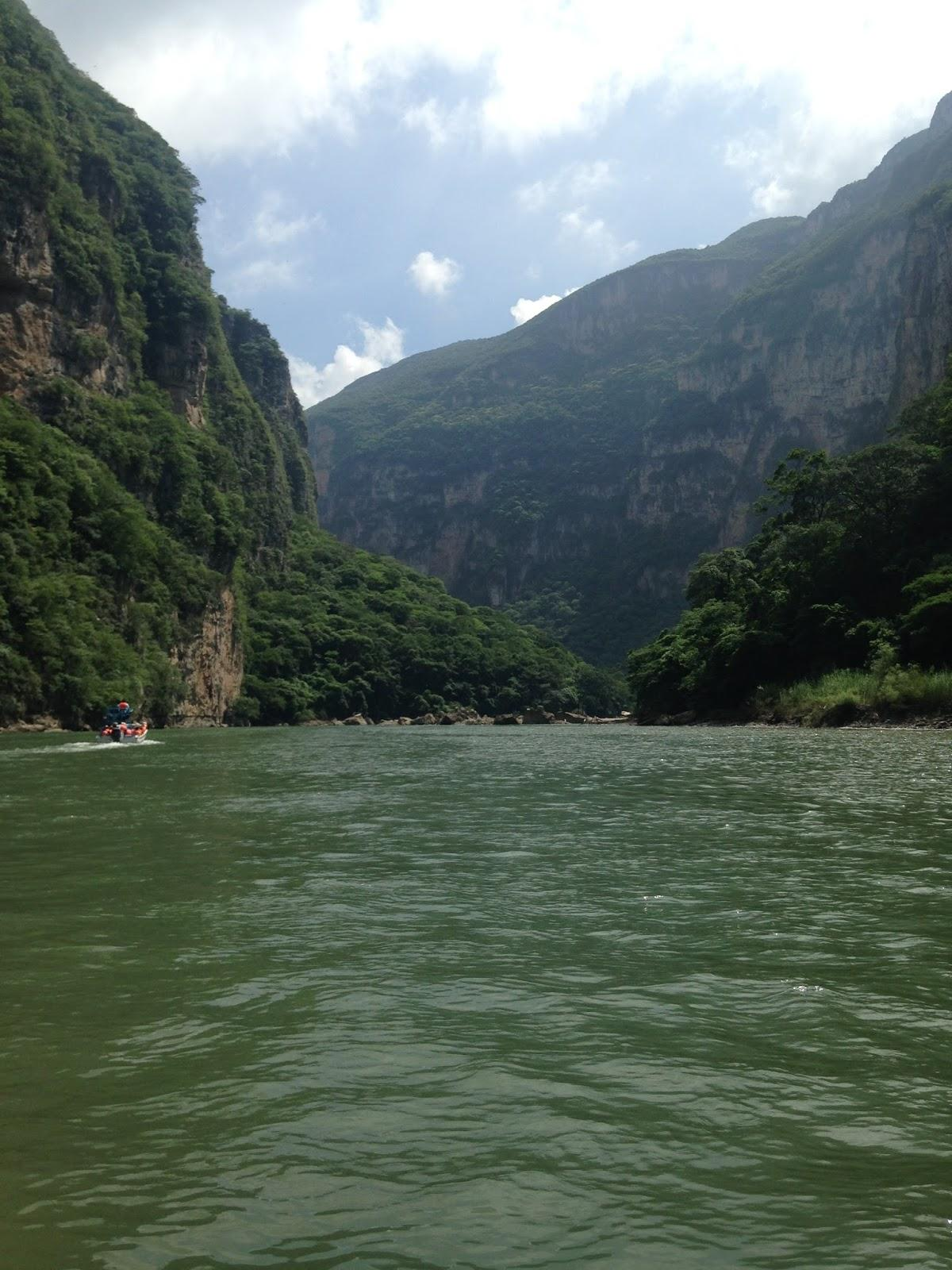 Food for Consciousness : sumidero canyon chiapas