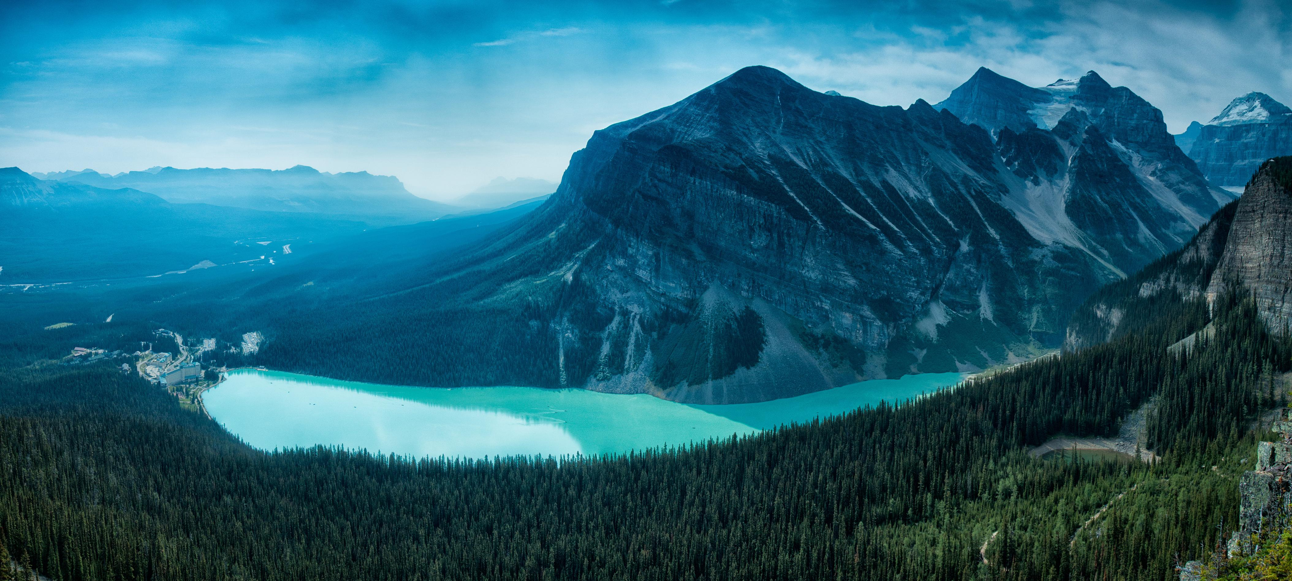 Wallpapers Canadian Rockies, Lake Louise, Banff National Park, Canada