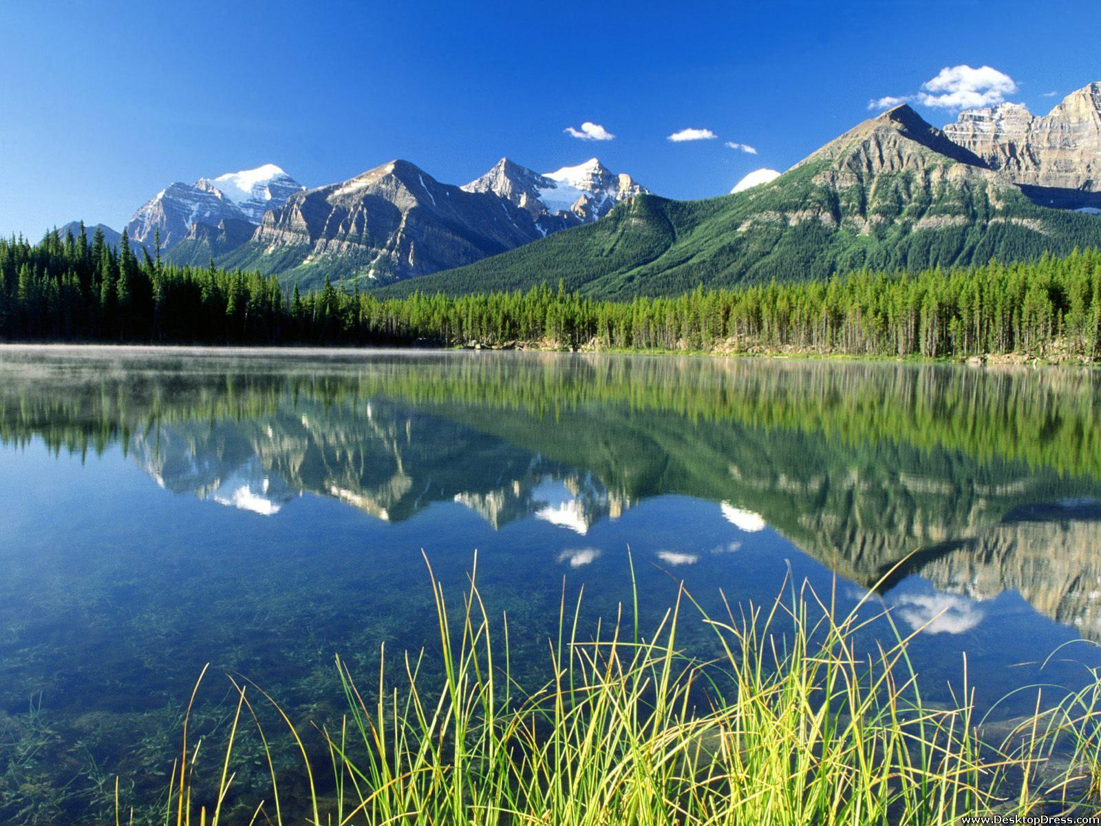 Desktop Wallpapers » Natural Backgrounds » Herbert Lake and Bow