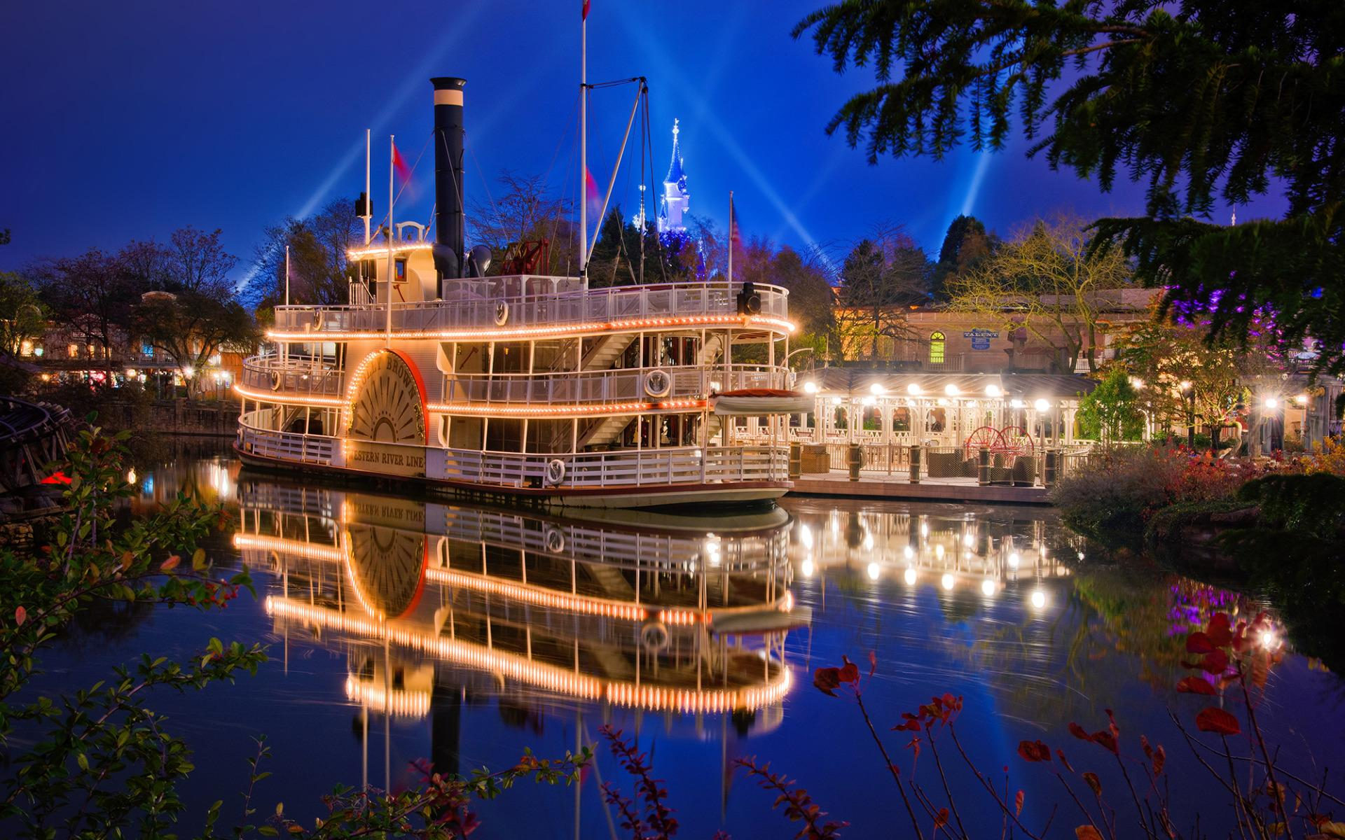 Molly Brown Riverboat, Disneyland Park widescreen wallpapers