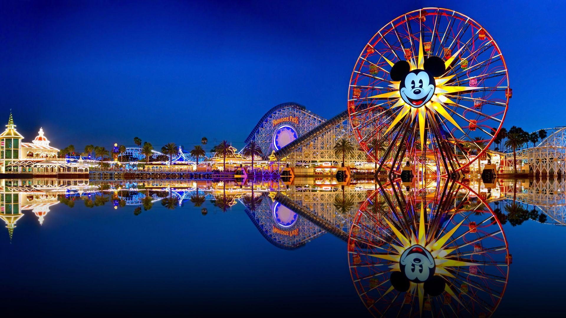 Disneyland Full HD Wallpaper.
