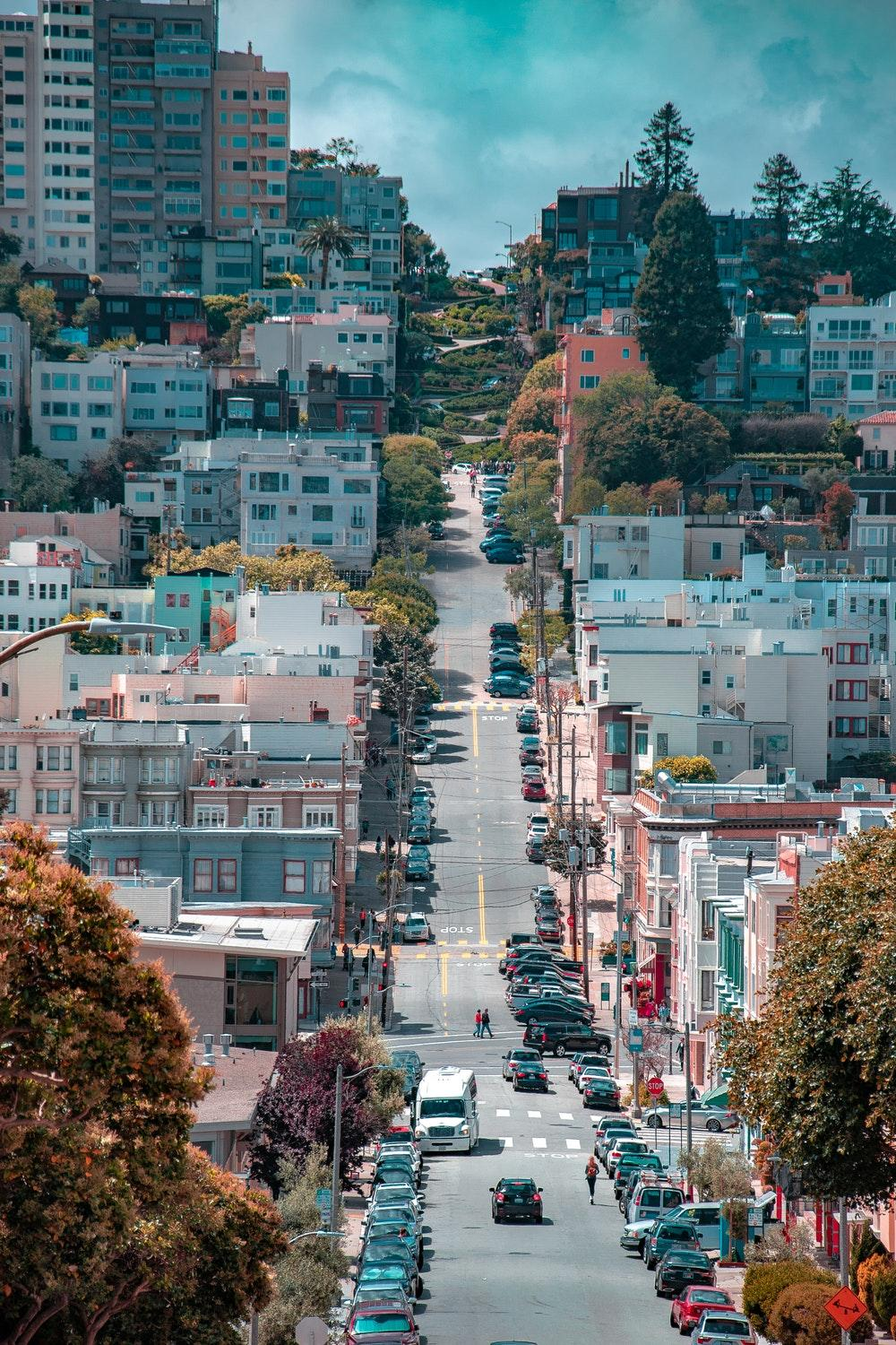 Lombard Street, San Francisco, United States Pictures