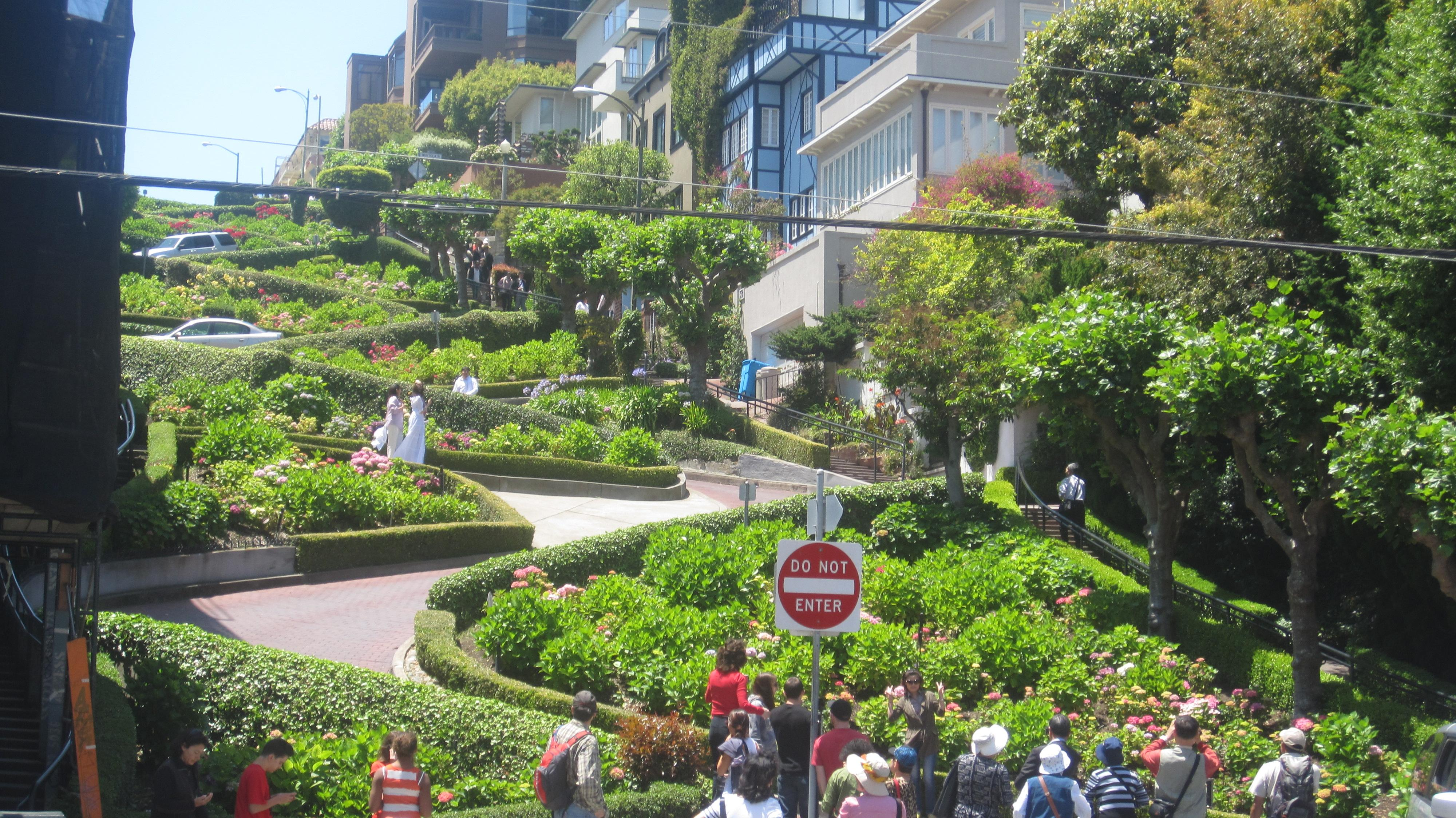 Lombard Street San Francisco HD Wallpapers
