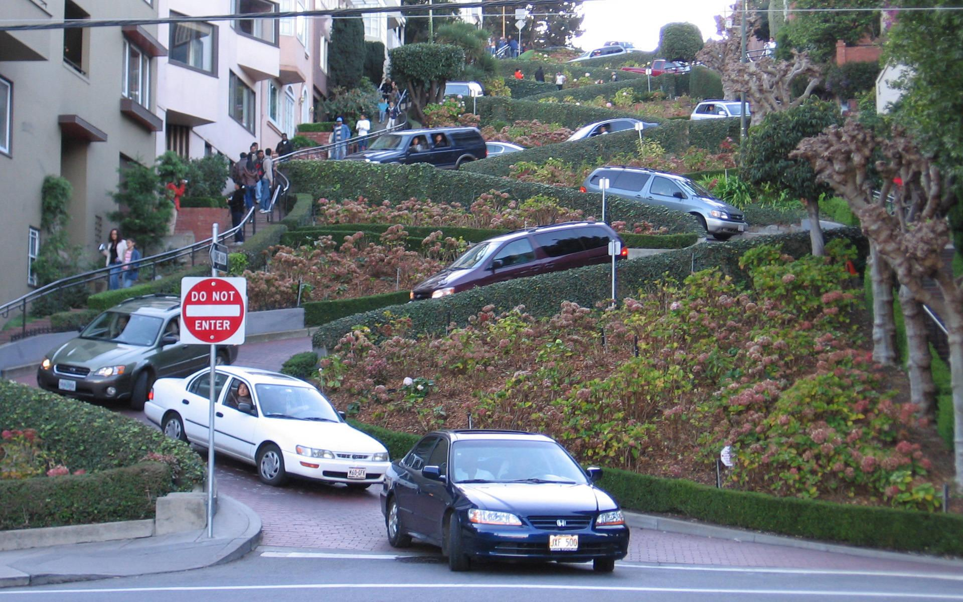 Lombard Street San Francisco wallpapers