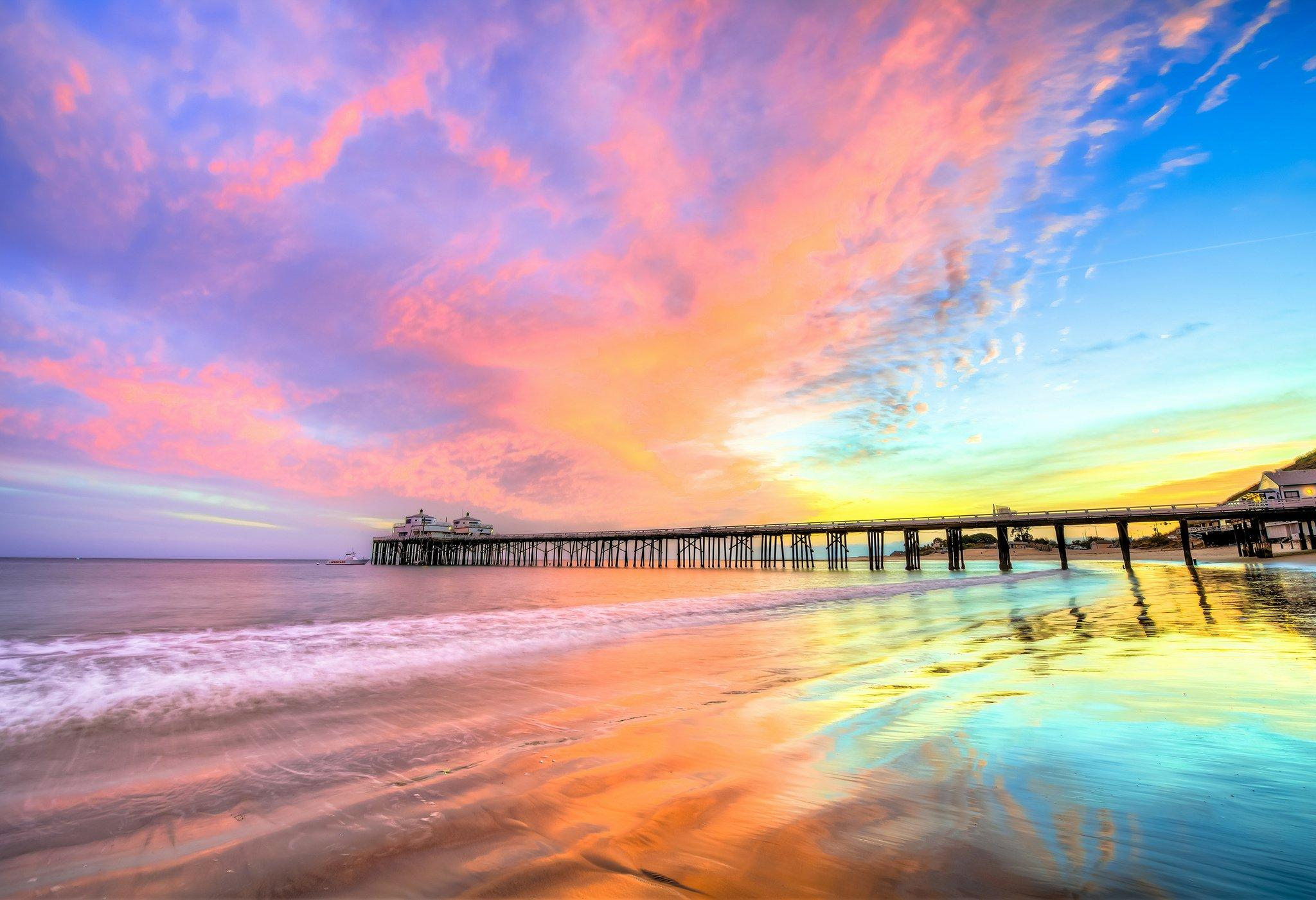 Santa Monica Pier HD Wallpapers