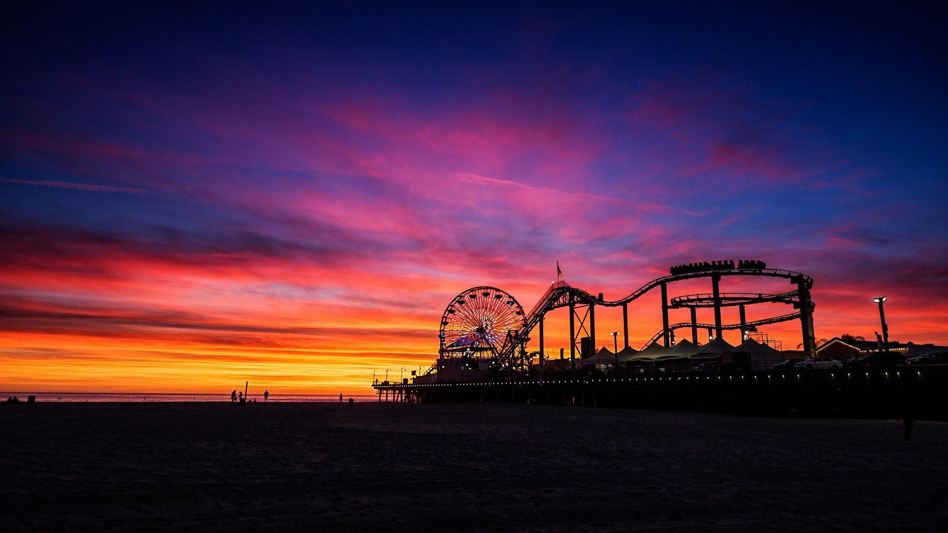 53+ Santa Monica Wallpapers
