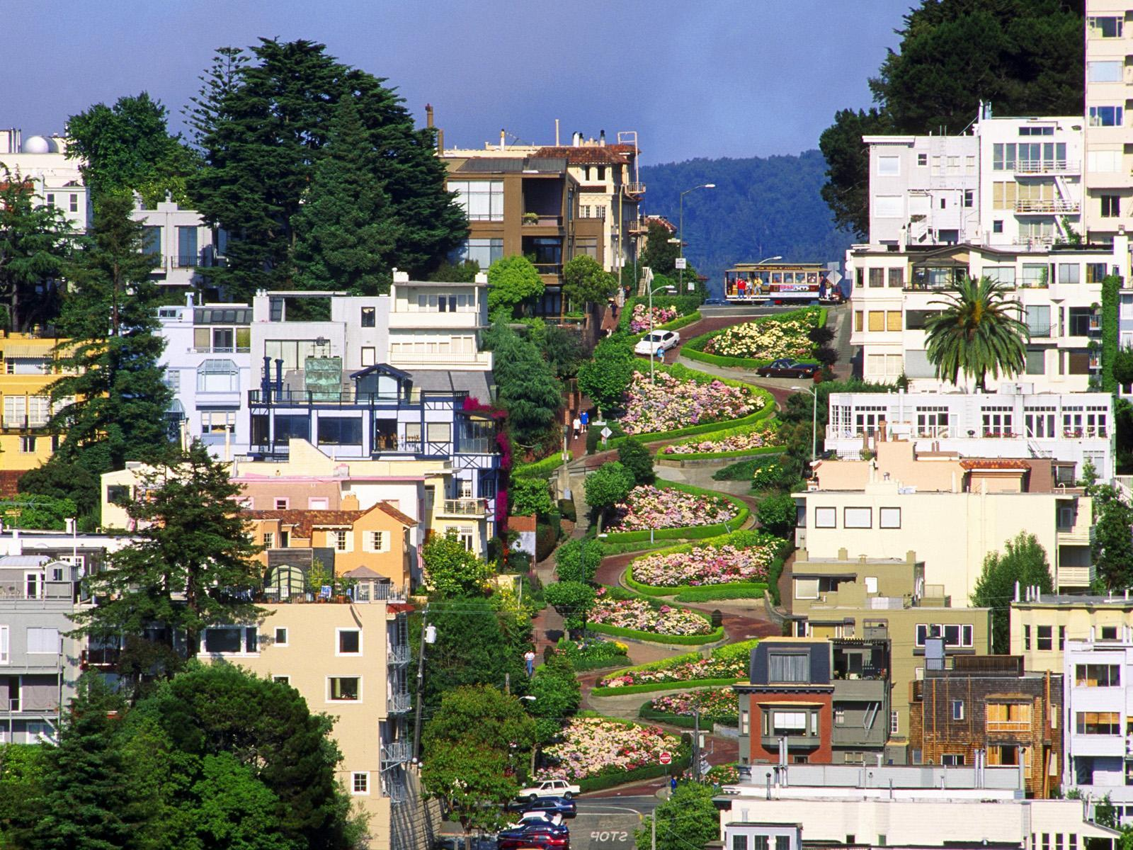 San Francisco Lombard Street Wallpapers 18787