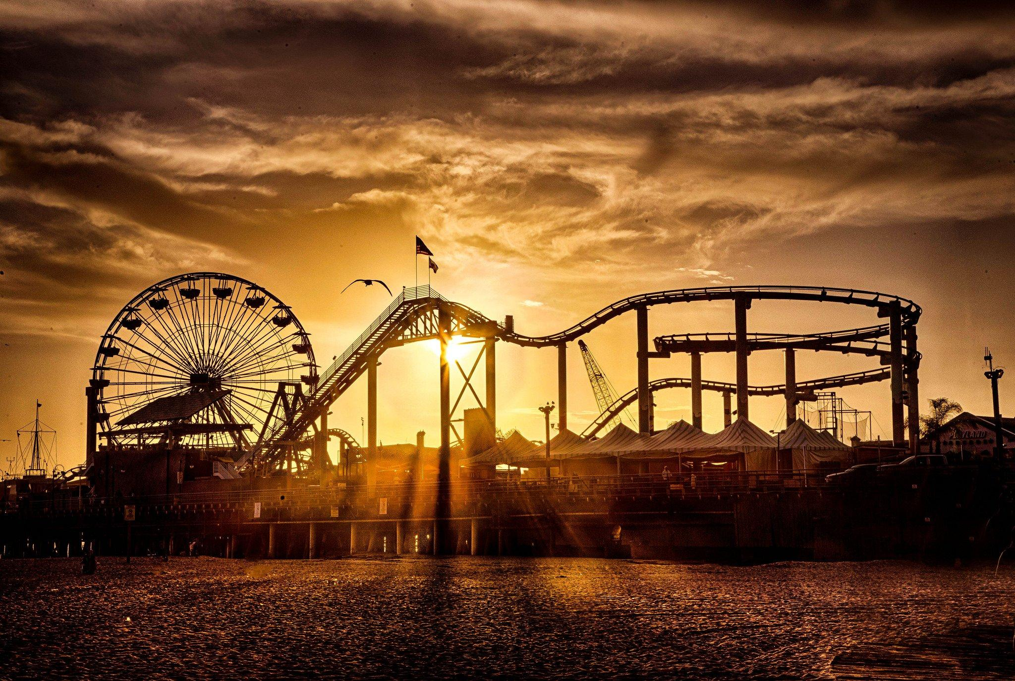 Santa Monica Pier Wallpapers